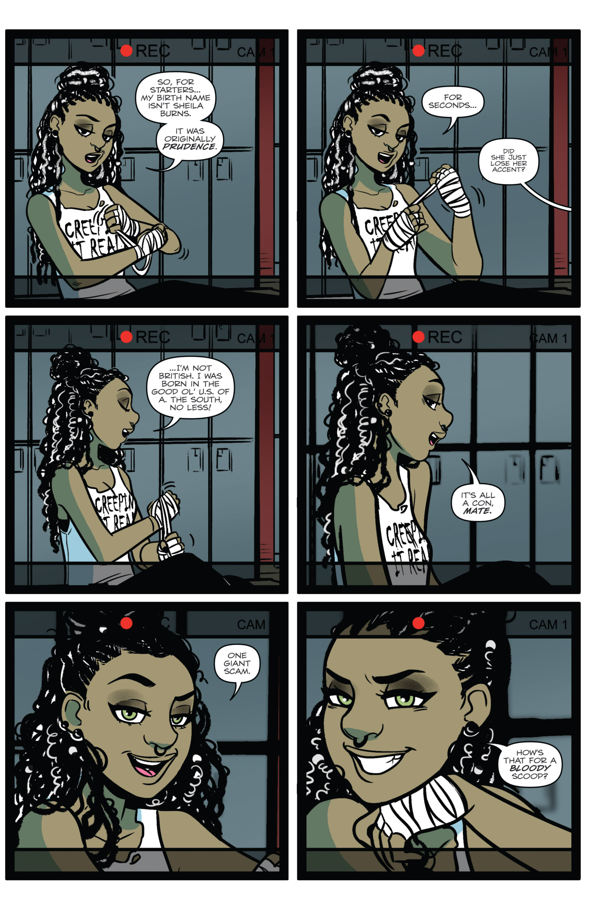 Read online Jem: The Misfits comic -  Issue #5 - 7