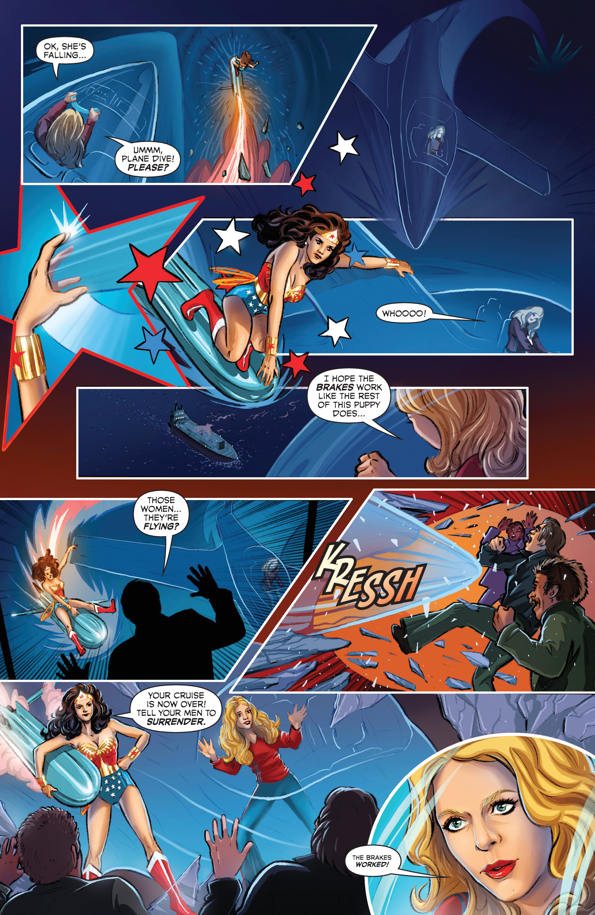 Read online Wonder Woman '77 Meets The Bionic Woman comic -  Issue #3 - 8