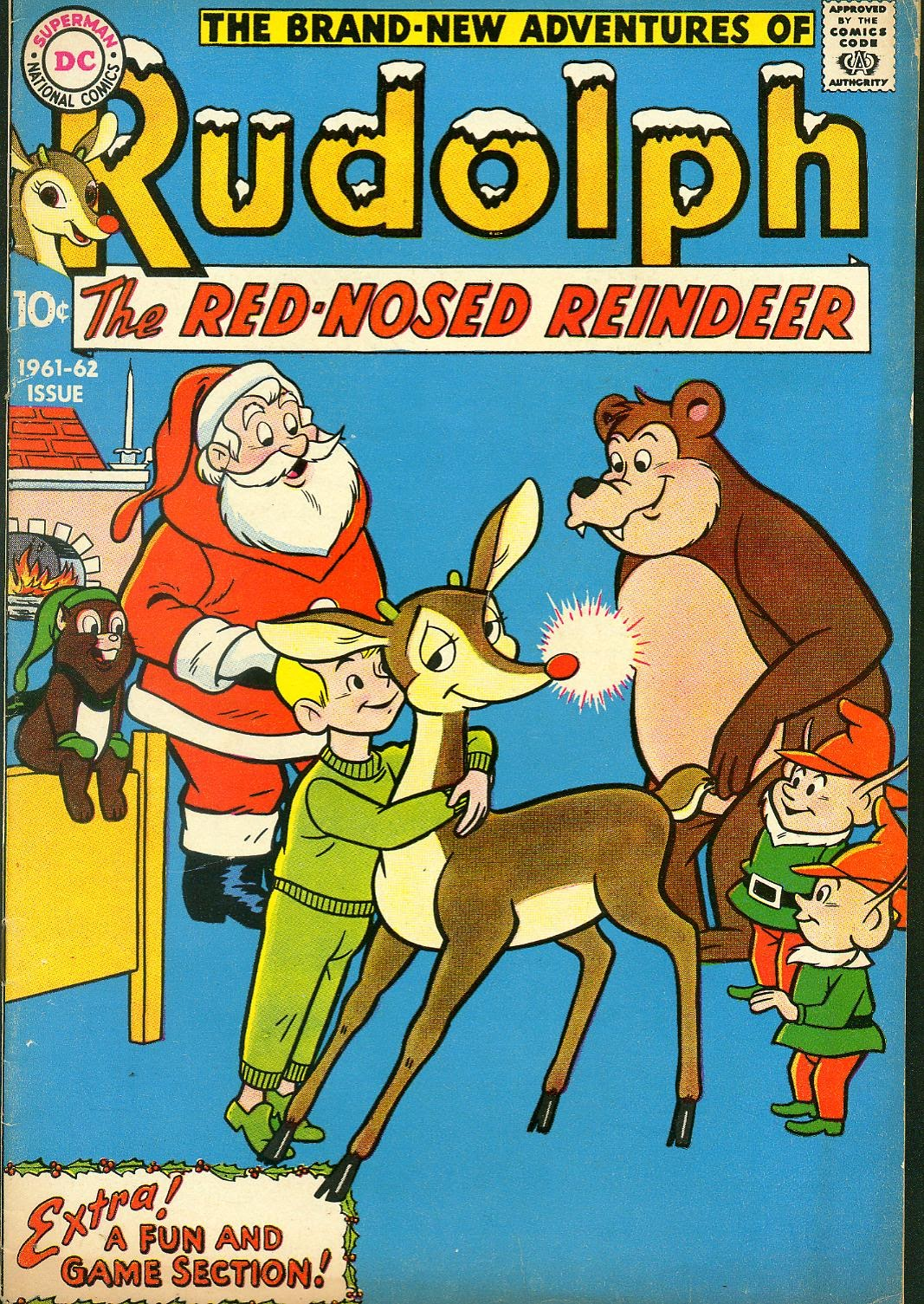 Rudolph the Red-Nosed Reindeer 12 Page 1