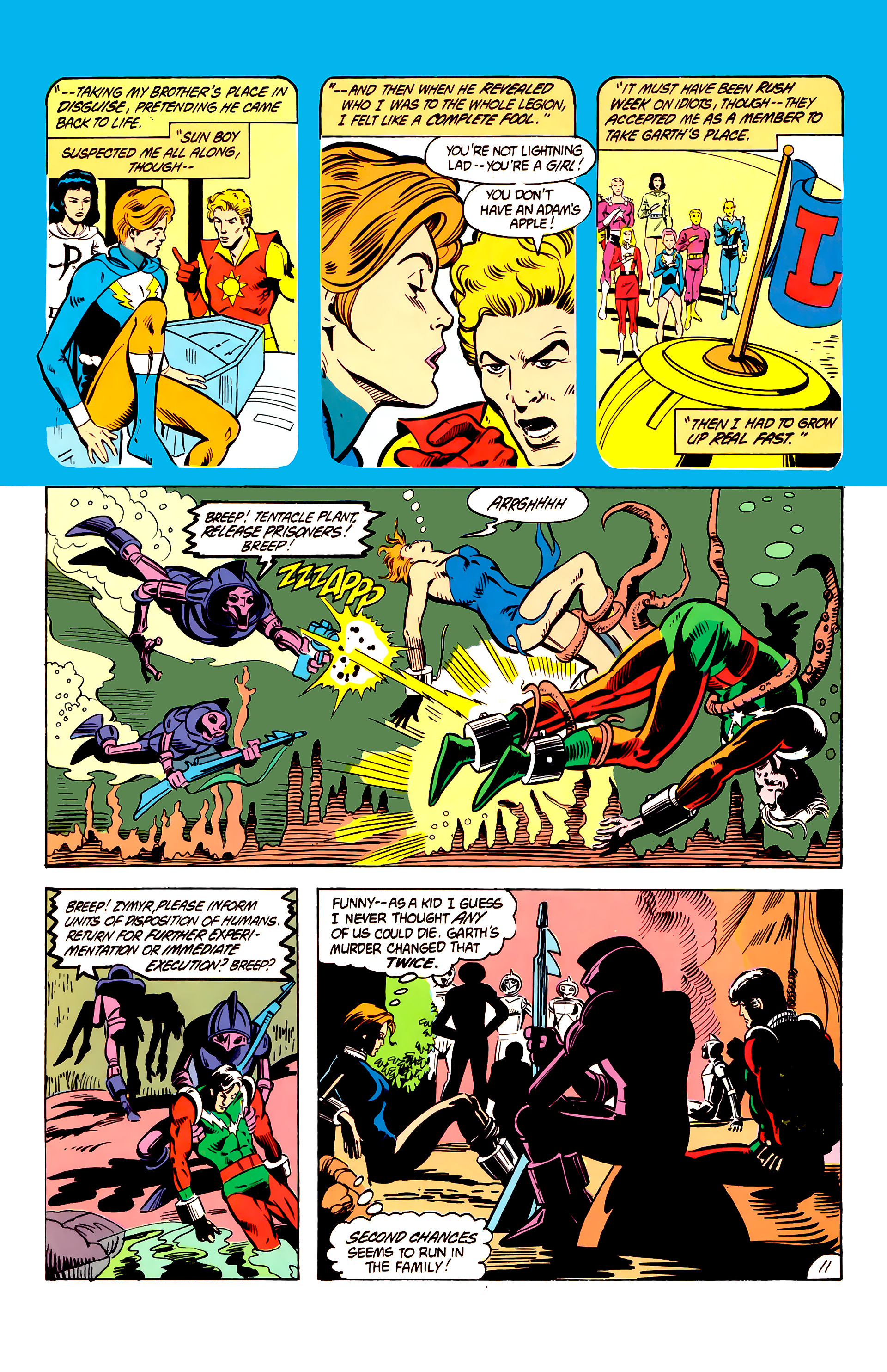 Legion of Super-Heroes (1984) 6 Page 11
