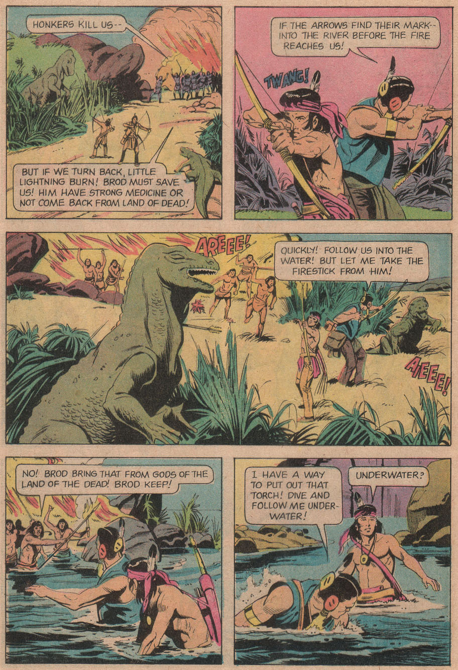 Read online Turok, Son of Stone comic -  Issue #97 - 32
