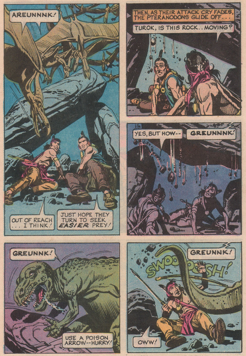 Read online Turok, Son of Stone comic -  Issue #113 - 31