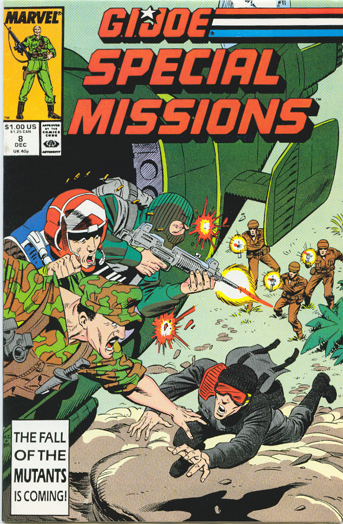 G.I. Joe Special Missions 8 Page 1