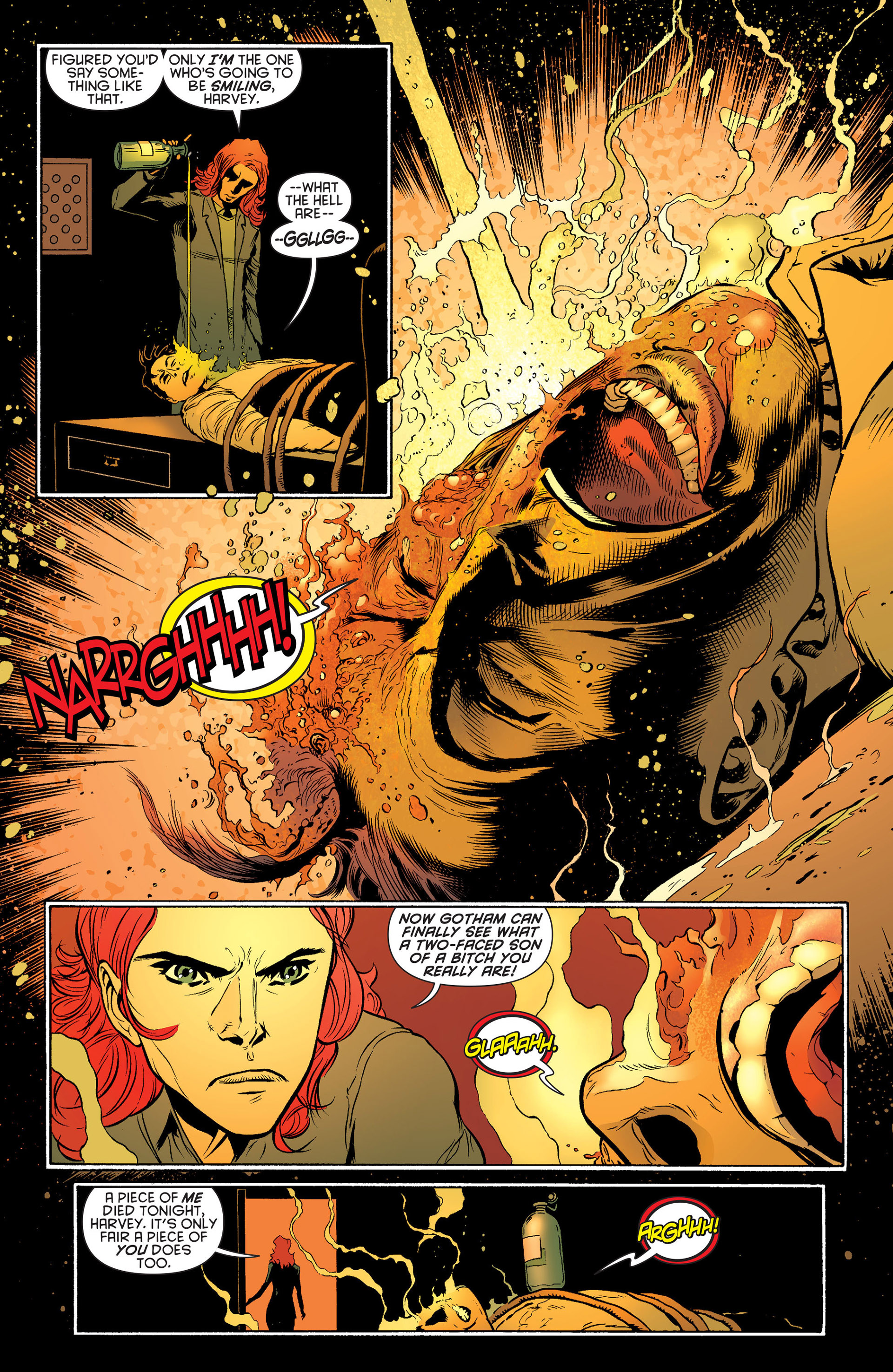 Read online Batman and Robin (2011) comic -  Issue #24 - Batman and Two-Face - 17