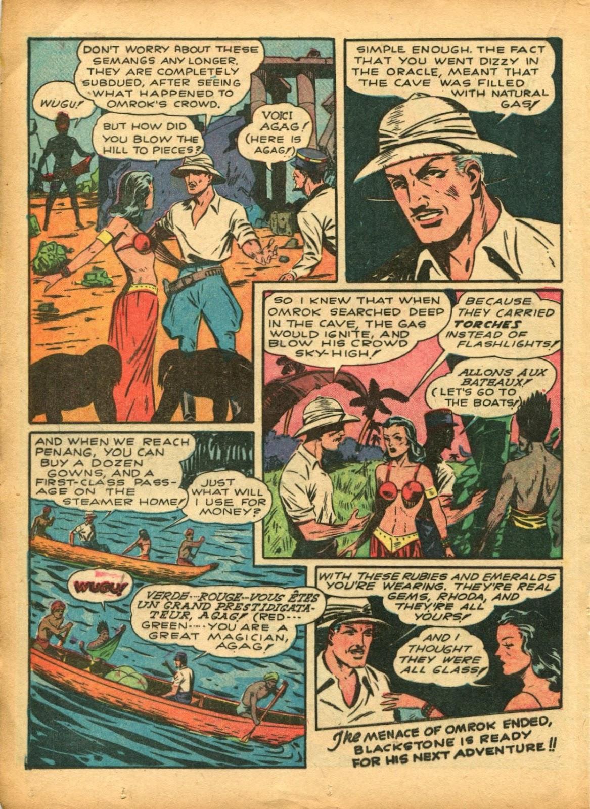 Read online Super-Magician Comics comic -  Issue #5 - 35