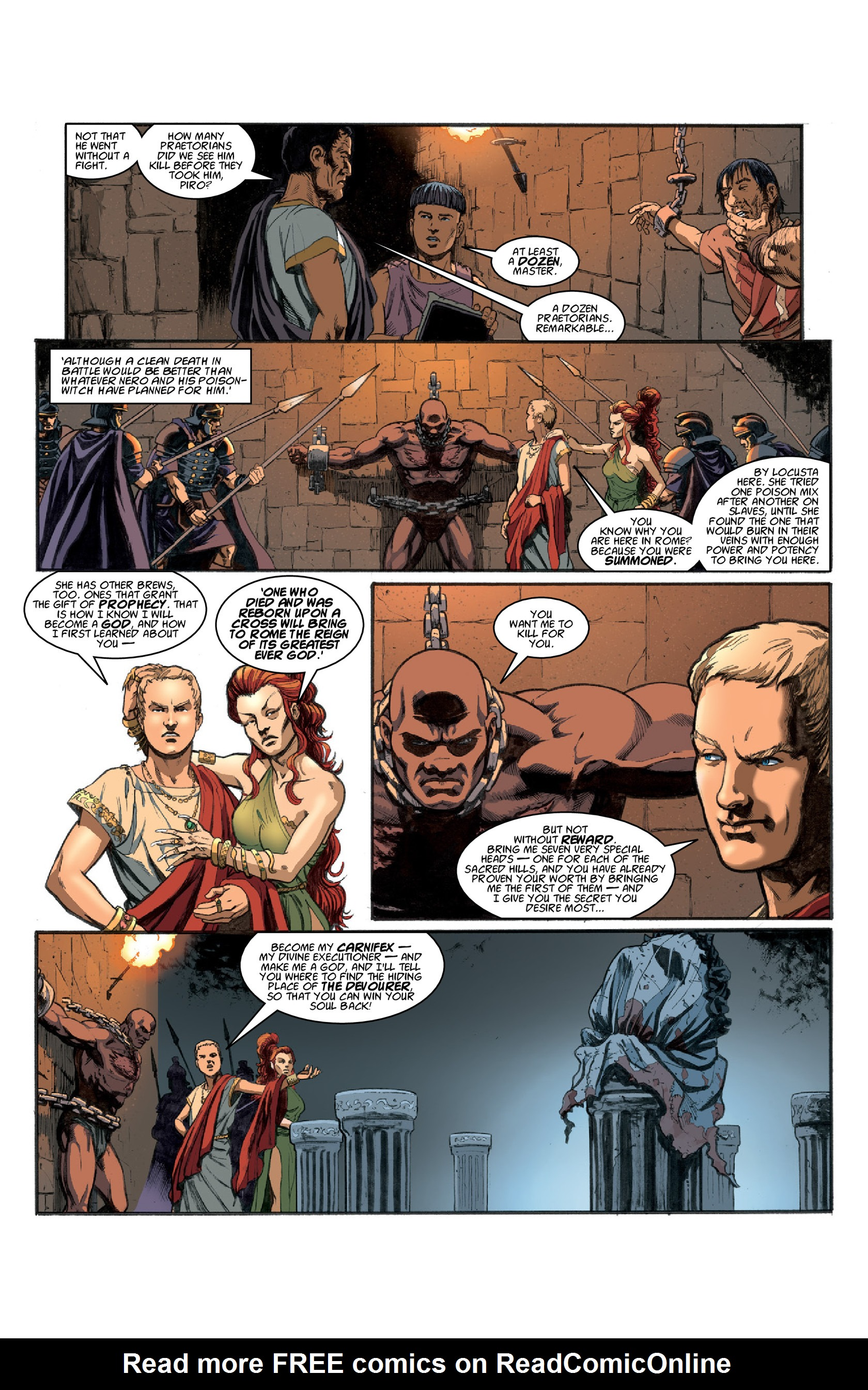 Read online Aquila comic -  Issue #3 - 28