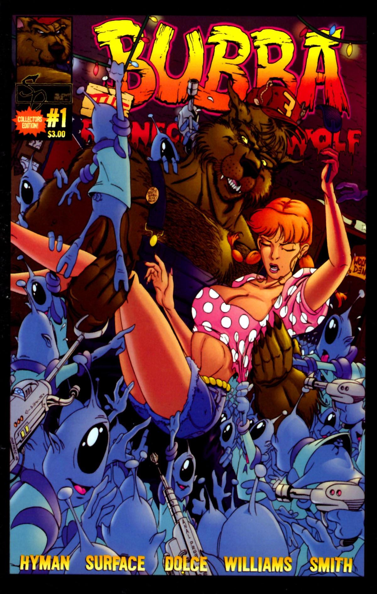 Bubba the Redneck Werewolf Super Sci-fi Special Full Page 1
