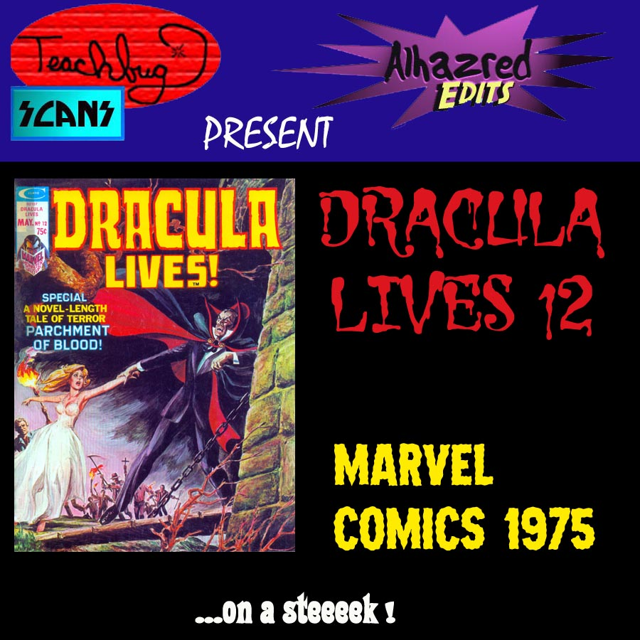 Dracula Lives 12 Page 1