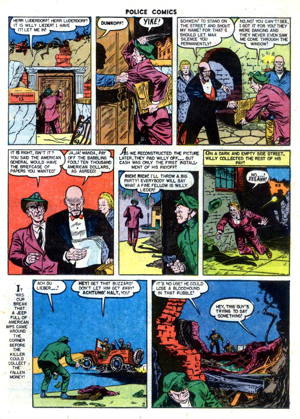 Police Comics issue 105 - Page 17