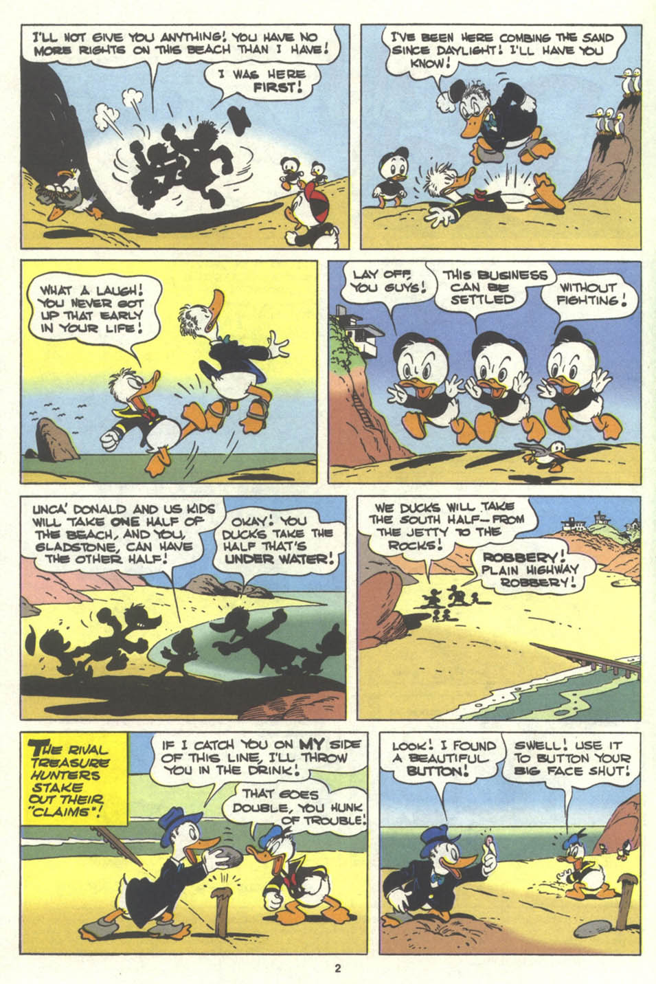 Walt Disney's Comics and Stories issue 576 - Page 3