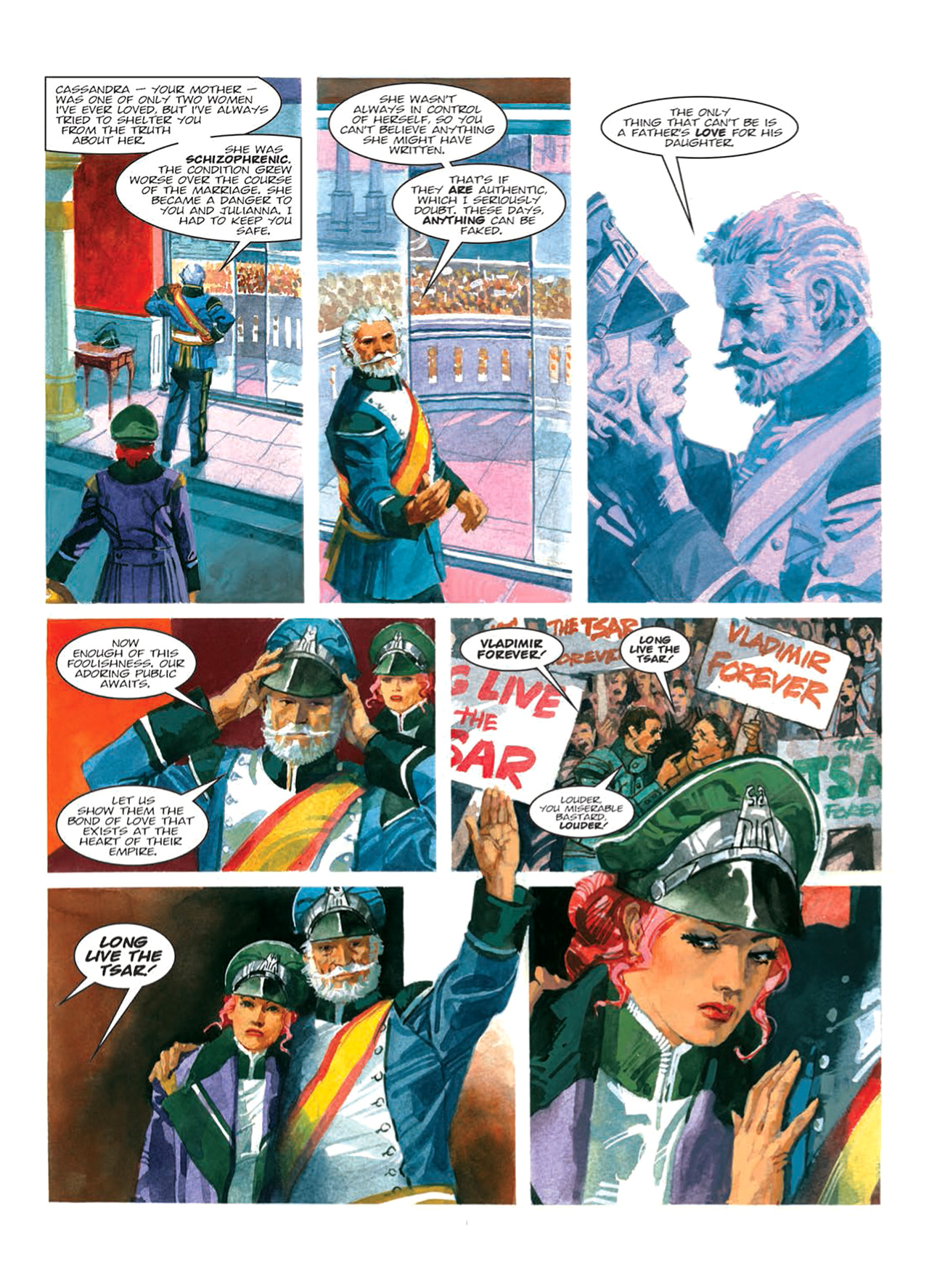 Read online Nikolai Dante comic -  Issue # TPB 9 - 86
