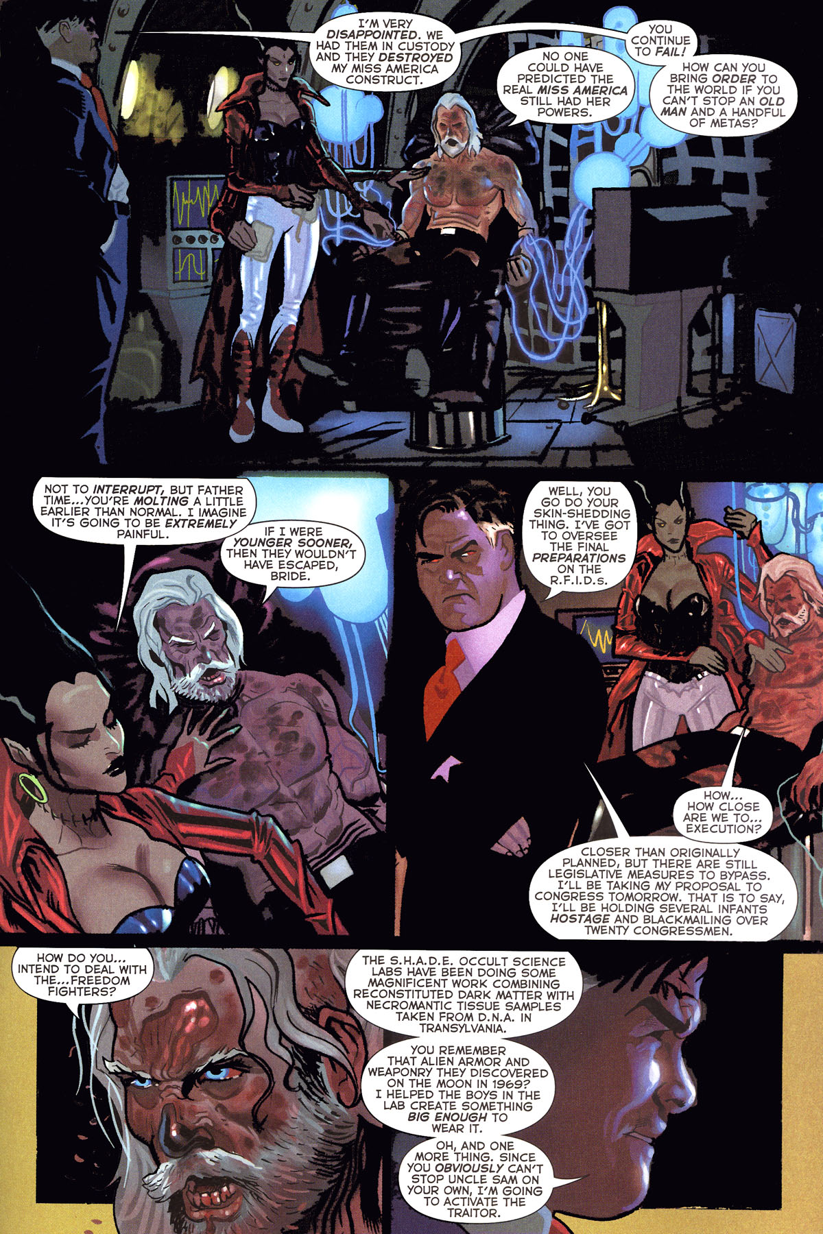 Read online Uncle Sam and the Freedom Fighters (2006) comic -  Issue #6 - 15