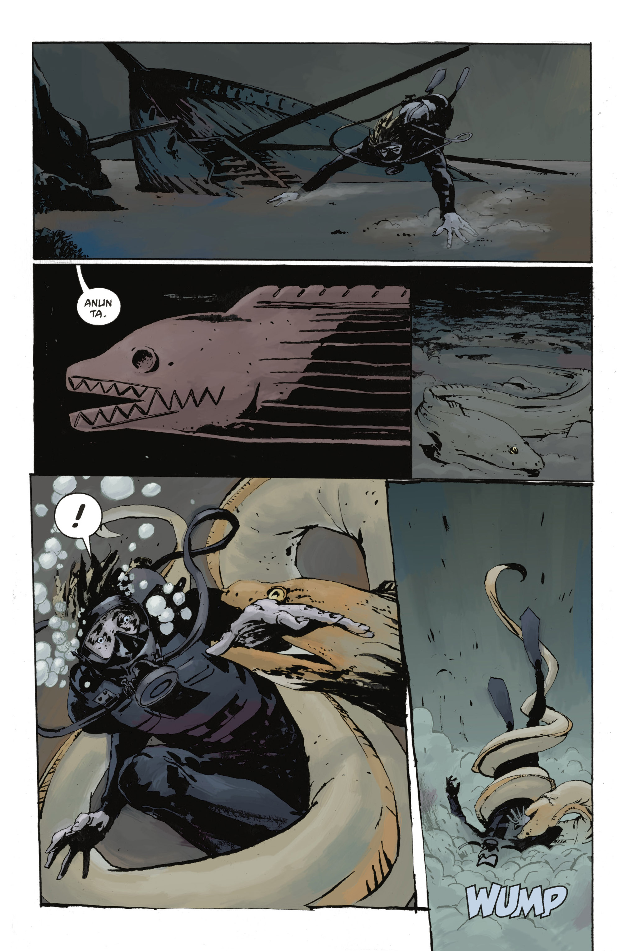 Read online Abe Sapien: The Drowning comic -  Issue #Abe Sapien: The Drowning _TPB - 31