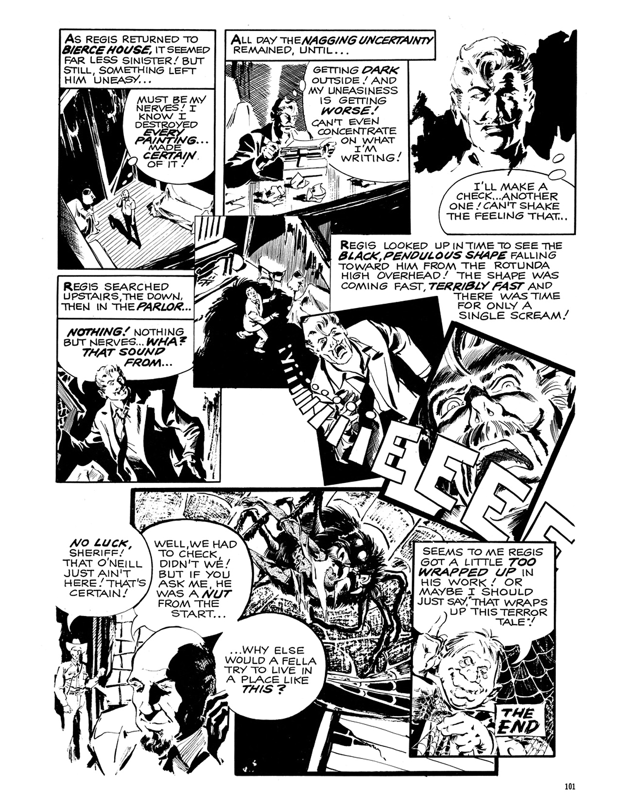 Read online Eerie Archives comic -  Issue # TPB 6 - 102