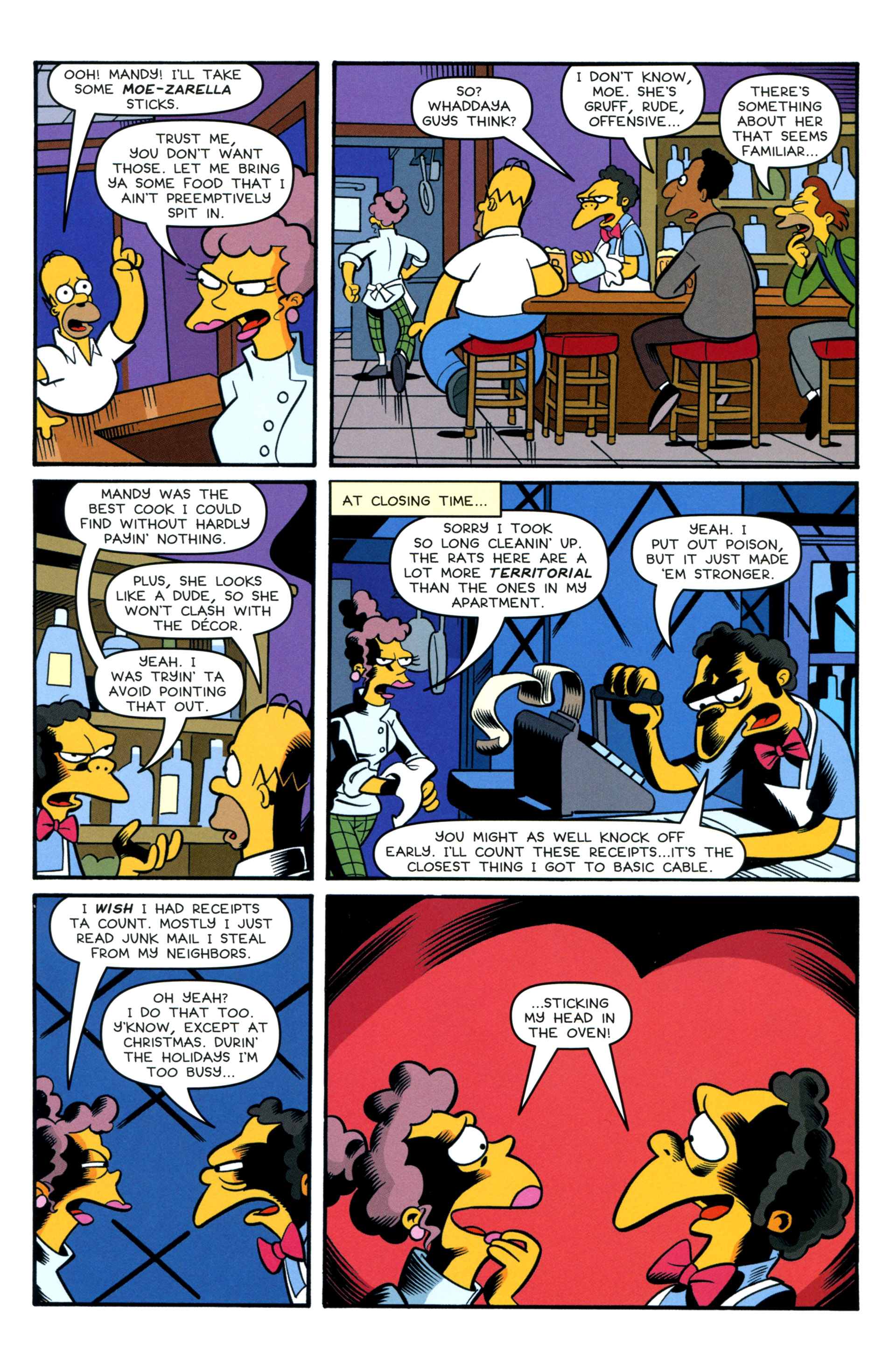 Read online Simpsons Comics comic -  Issue #200 - 34