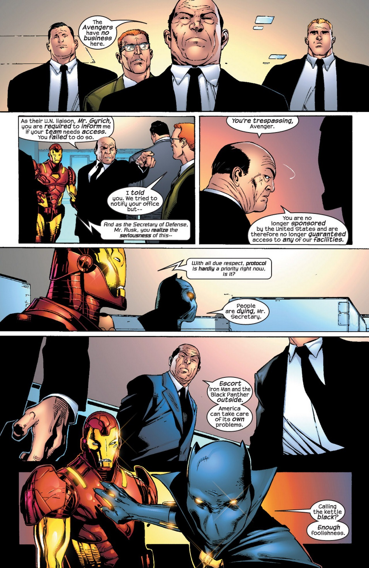 Read online Avengers (1998) comic -  Issue #66 - 5