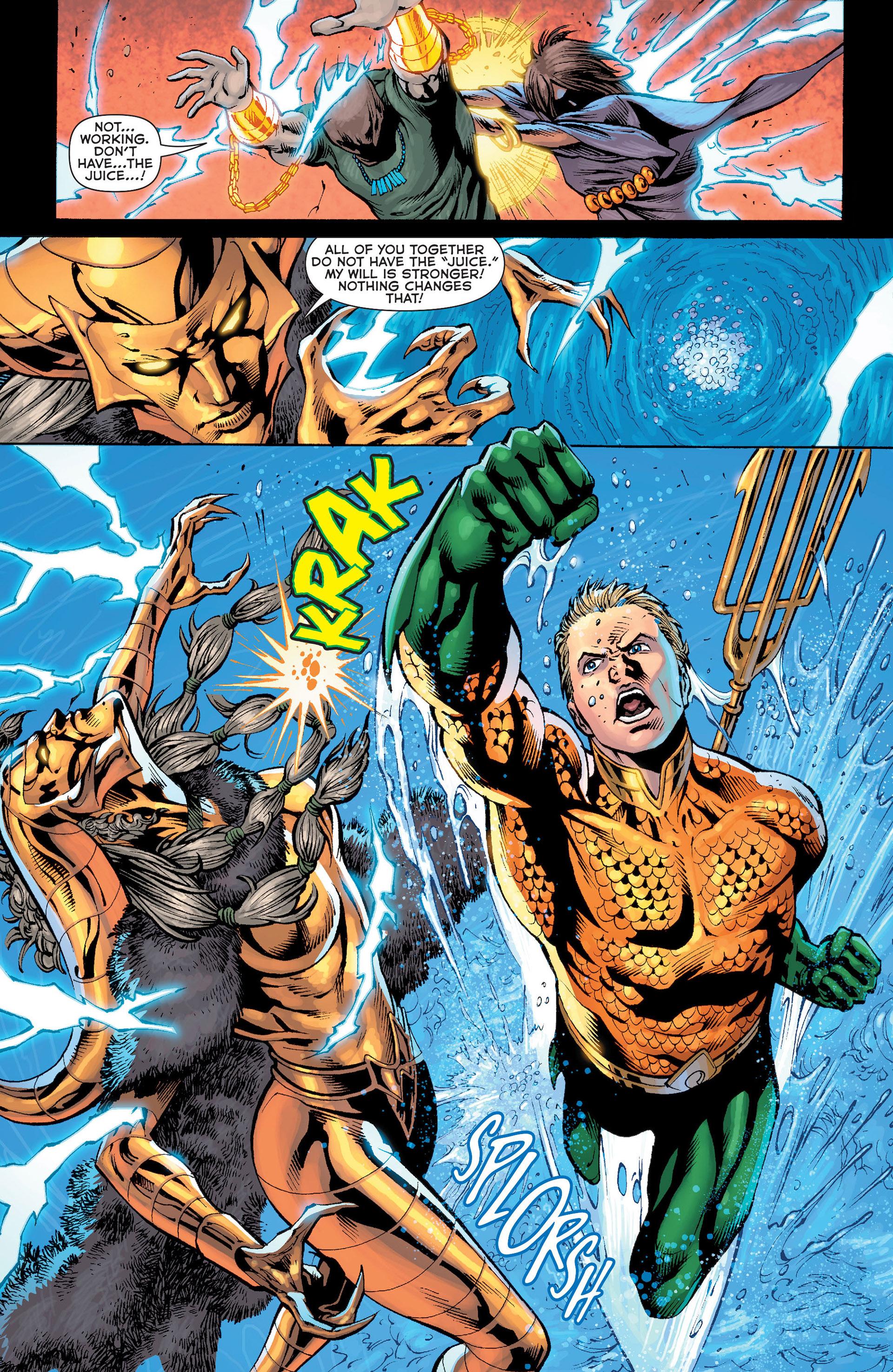Read online Aquaman (2011) comic -  Issue #Aquaman (2011) _Annual 1 - 34