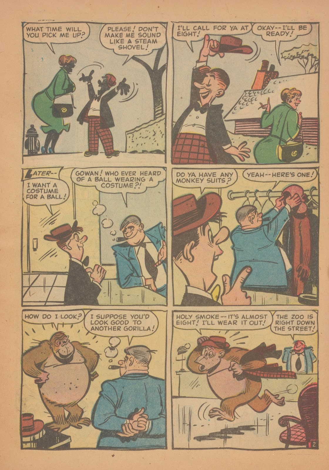 Read online Nellie The Nurse (1945) comic -  Issue #35 - 11