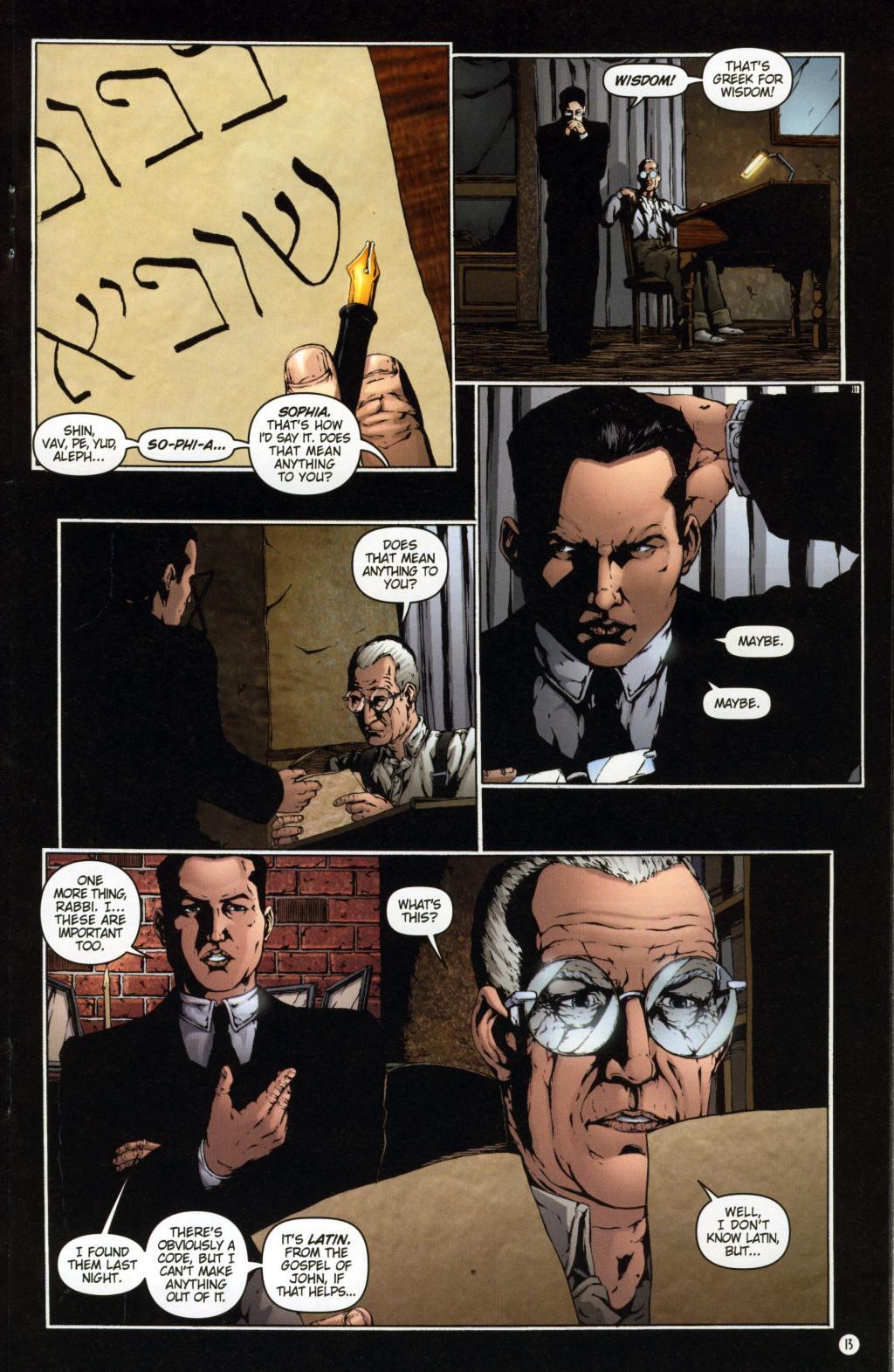Read online Rex Mundi comic -  Issue #7 - 17