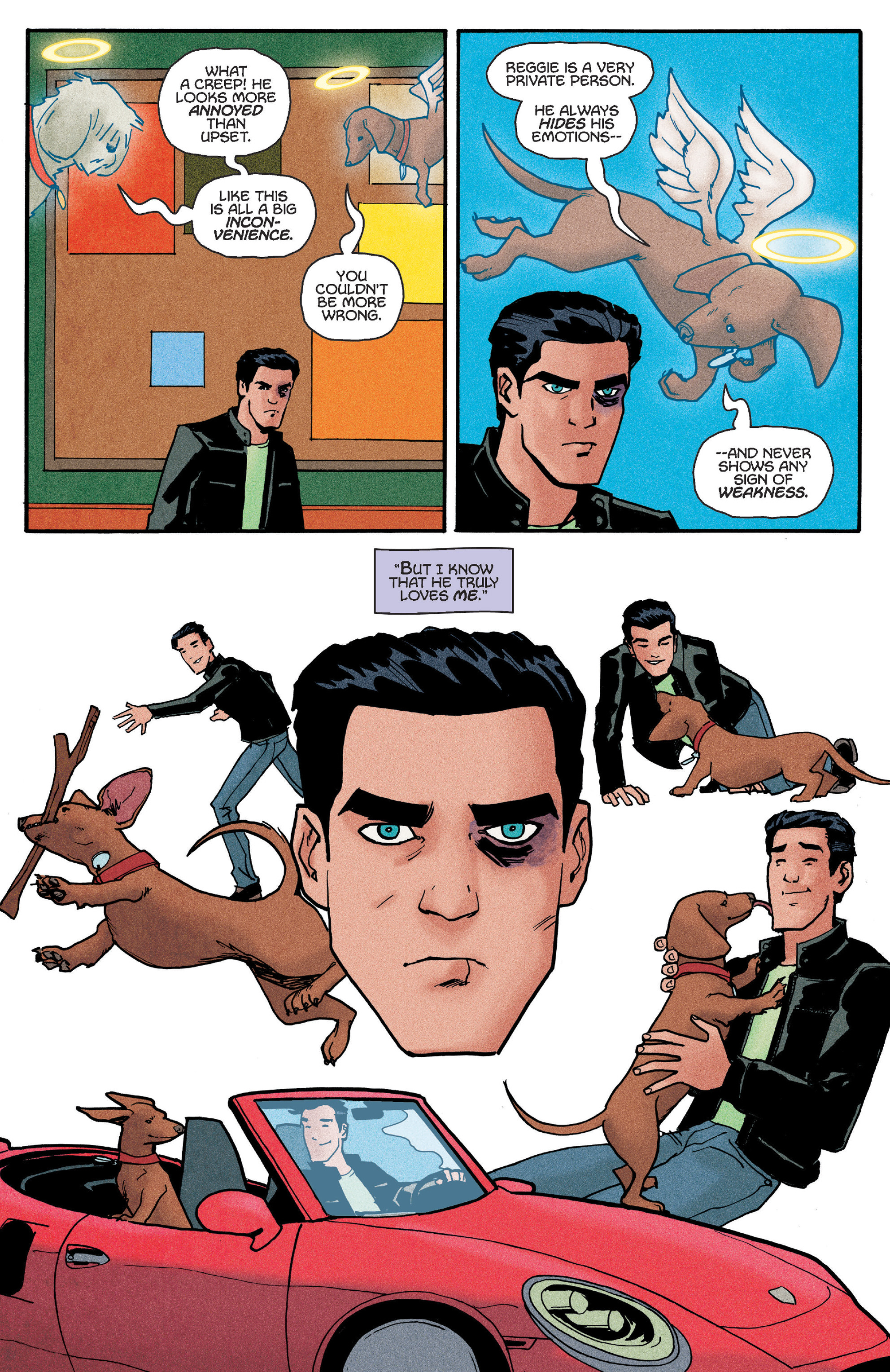 Read online Reggie and Me comic -  Issue #5 - 14