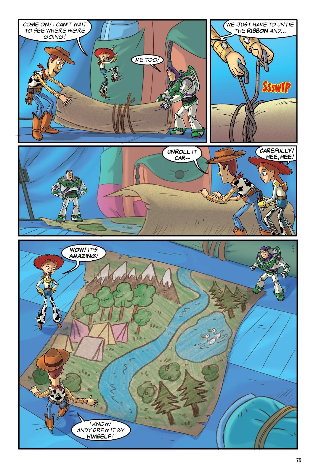 Read online DISNEY·PIXAR Toy Story Adventures comic -  Issue # TPB 1 (Part 1) - 79