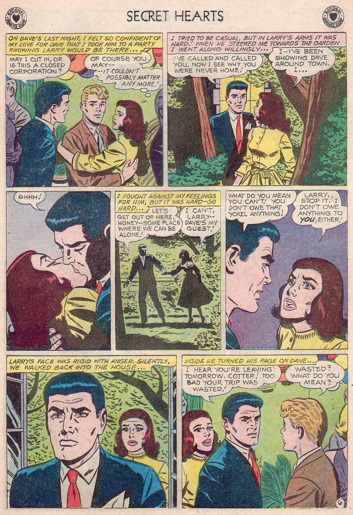 Read online Secret Hearts comic -  Issue #61 - 23