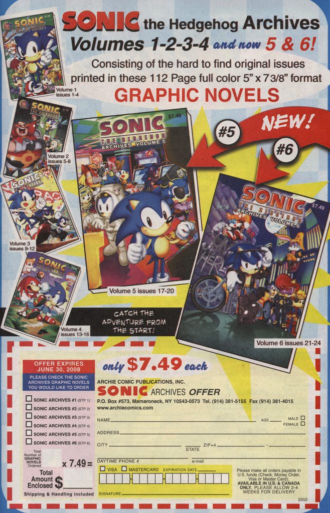 Read online Sonic X comic -  Issue #25 - 29