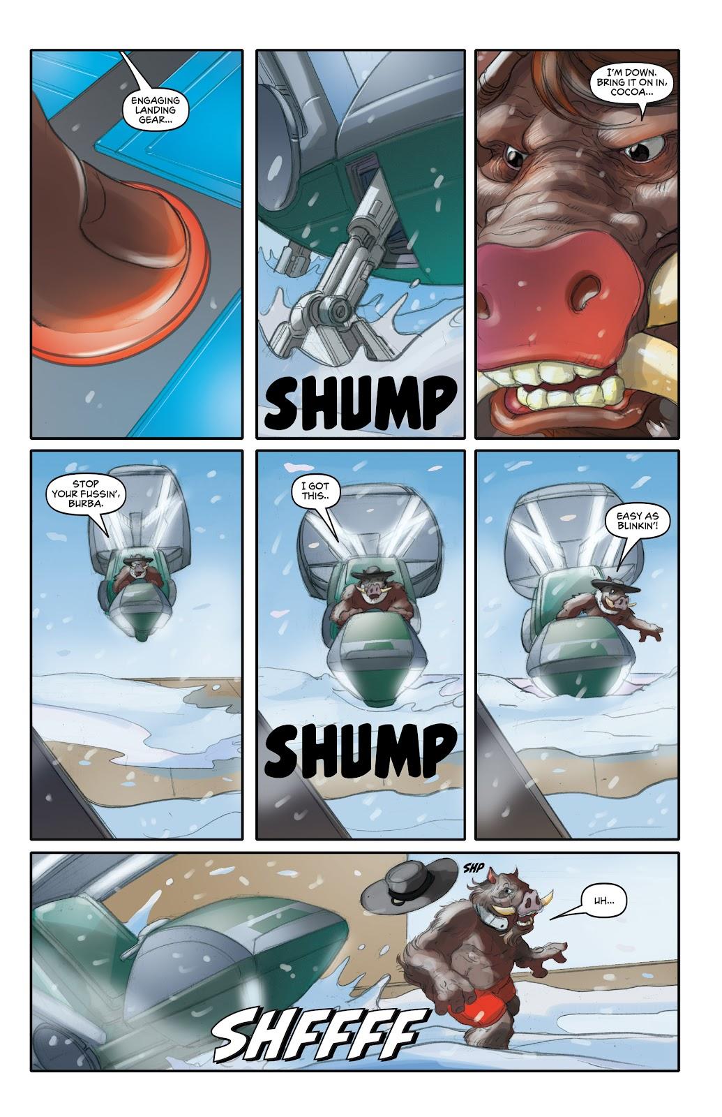 Read online Elephantmen 2261 Season Two: The Pentalion Job comic -  Issue # TPB - 42