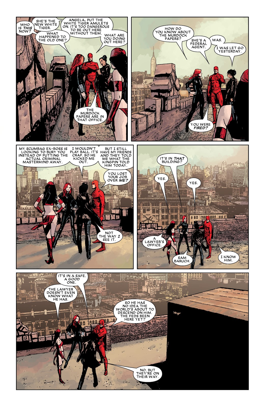Read online Daredevil (1998) comic -  Issue # _Ultimate_Collection TPB 3 (Part 3) - 85
