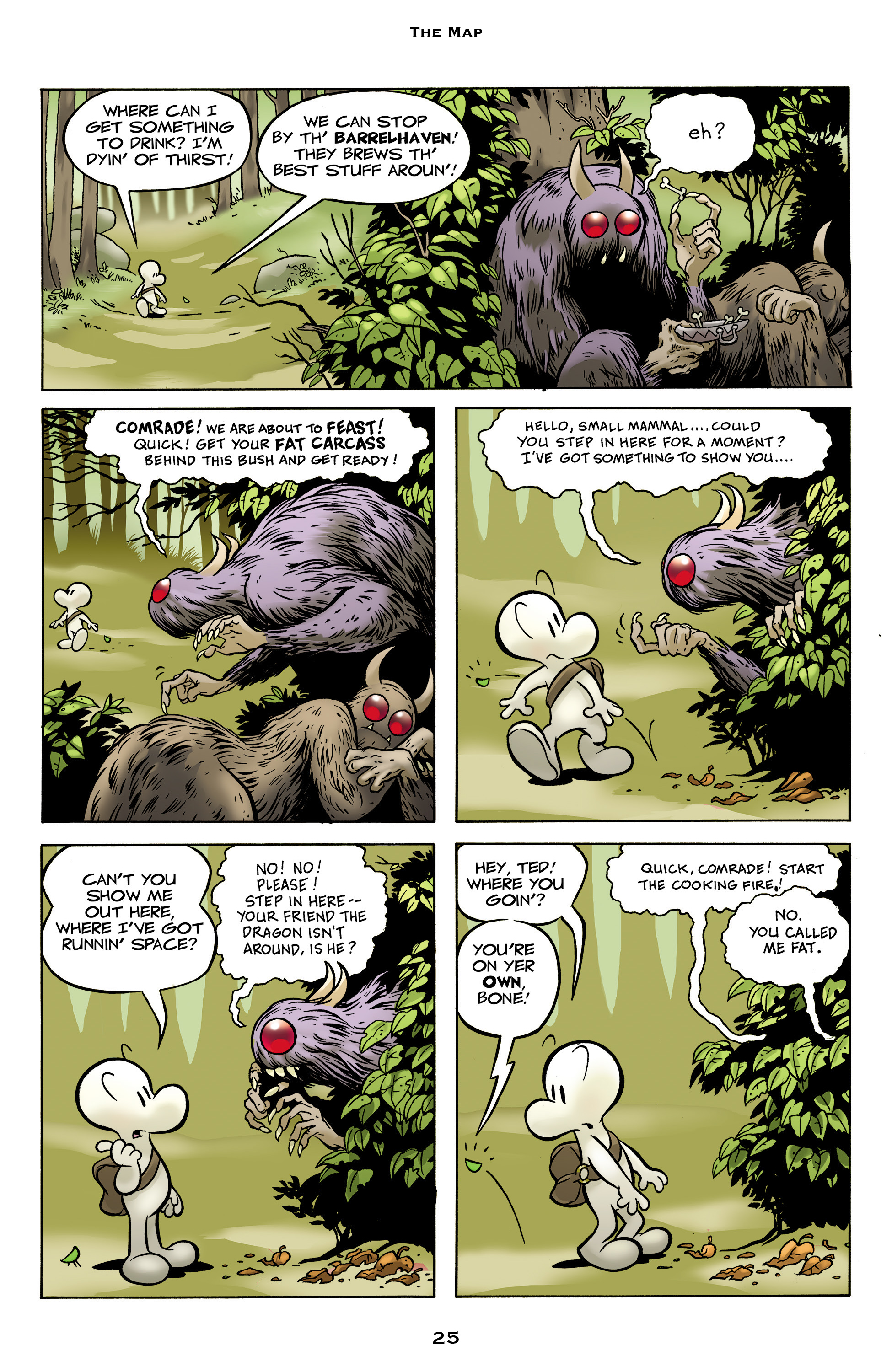 Read online Bone: Out From Boneville comic -  Issue # TPB - 25