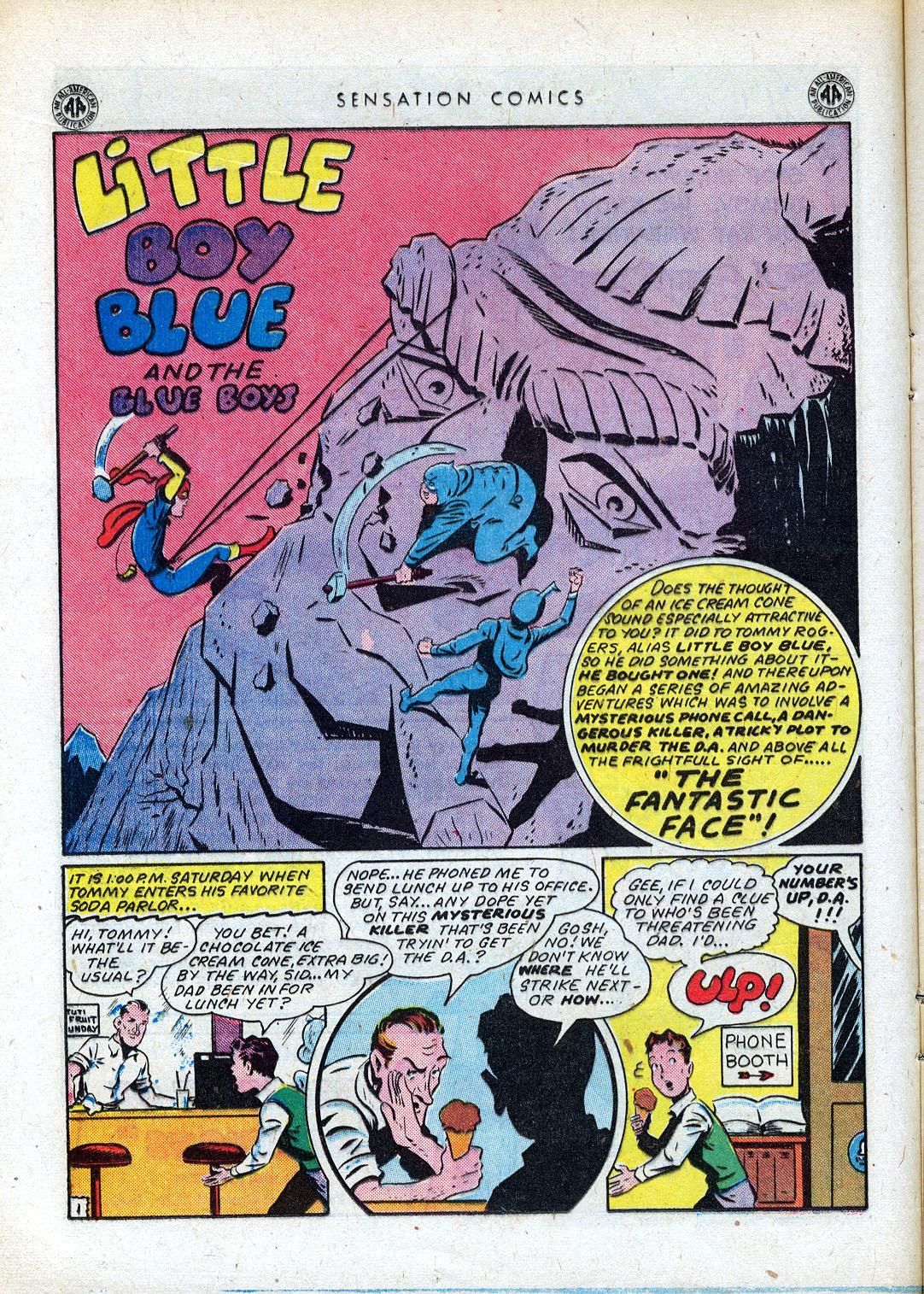Read online Sensation (Mystery) Comics comic -  Issue #41 - 18