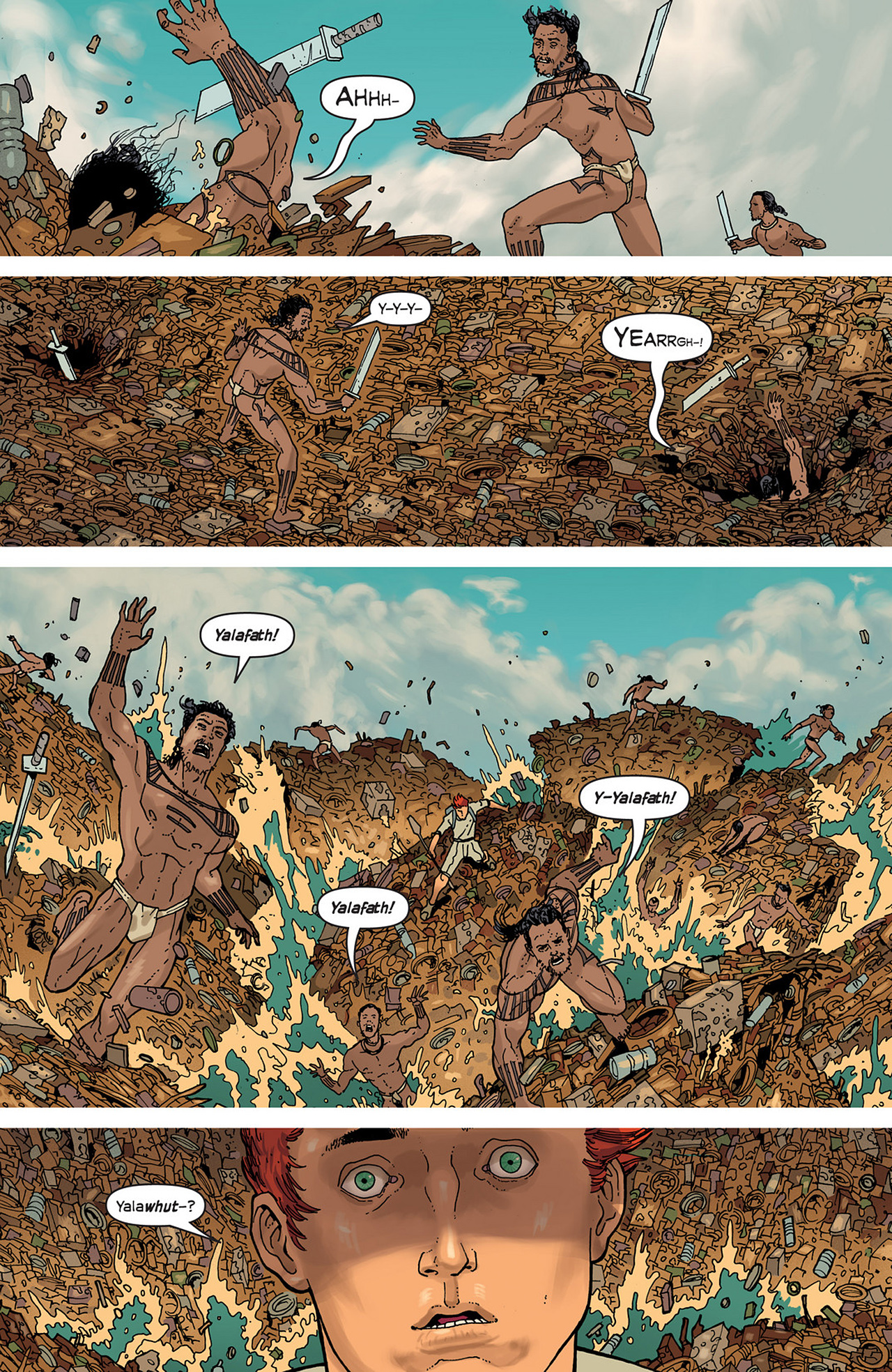 Read online Great Pacific comic -  Issue #2 - 20
