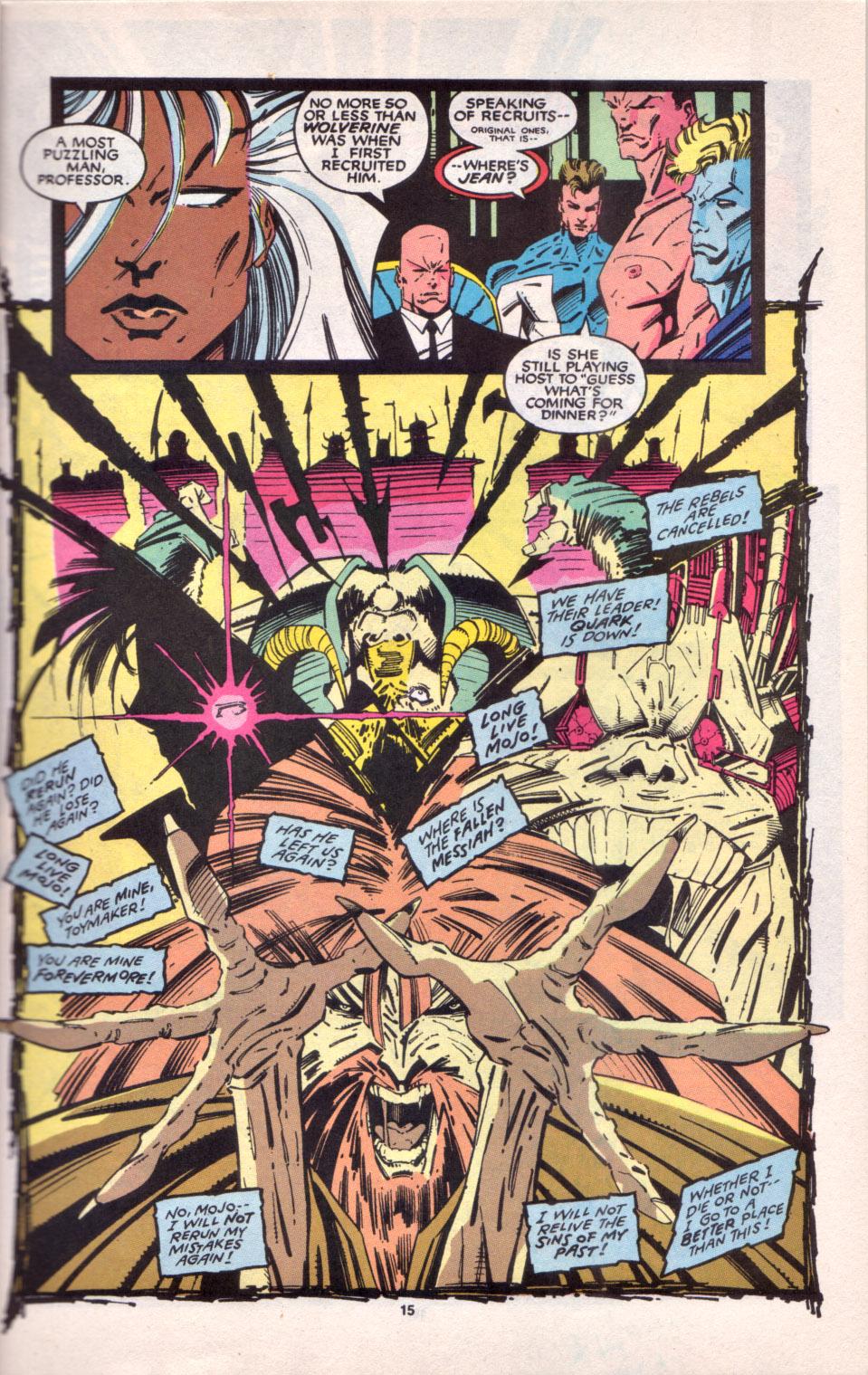 Read online Uncanny X-Men (1963) comic -  Issue # _Annual 16 - 13