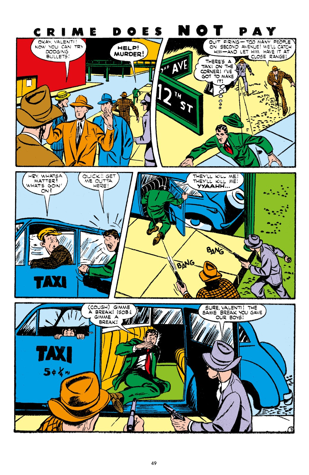 Read online Crime Does Not Pay Archives comic -  Issue # TPB 7 (Part 1) - 51