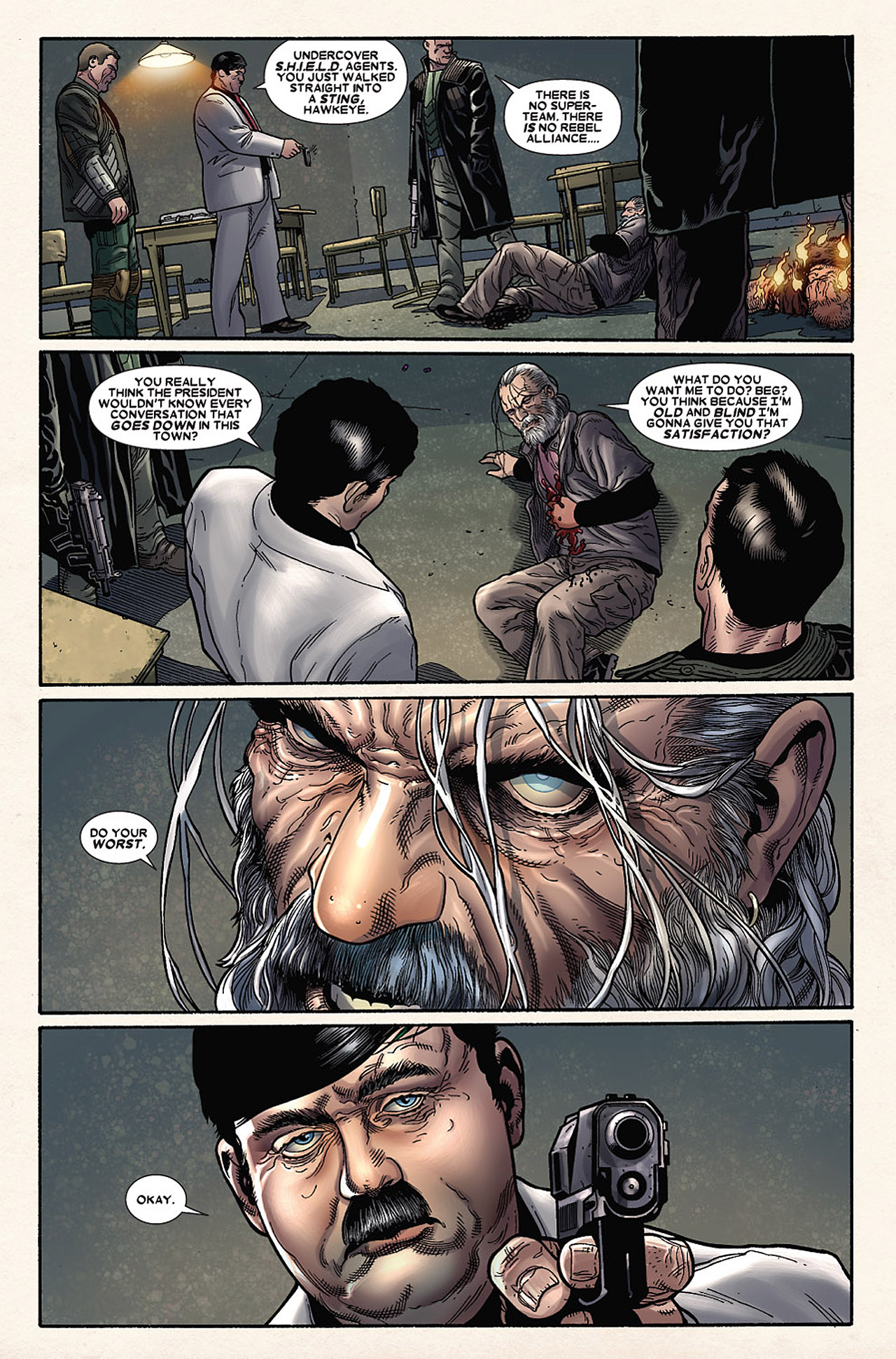 Read online Wolverine: Old Man Logan comic -  Issue # Full - 135