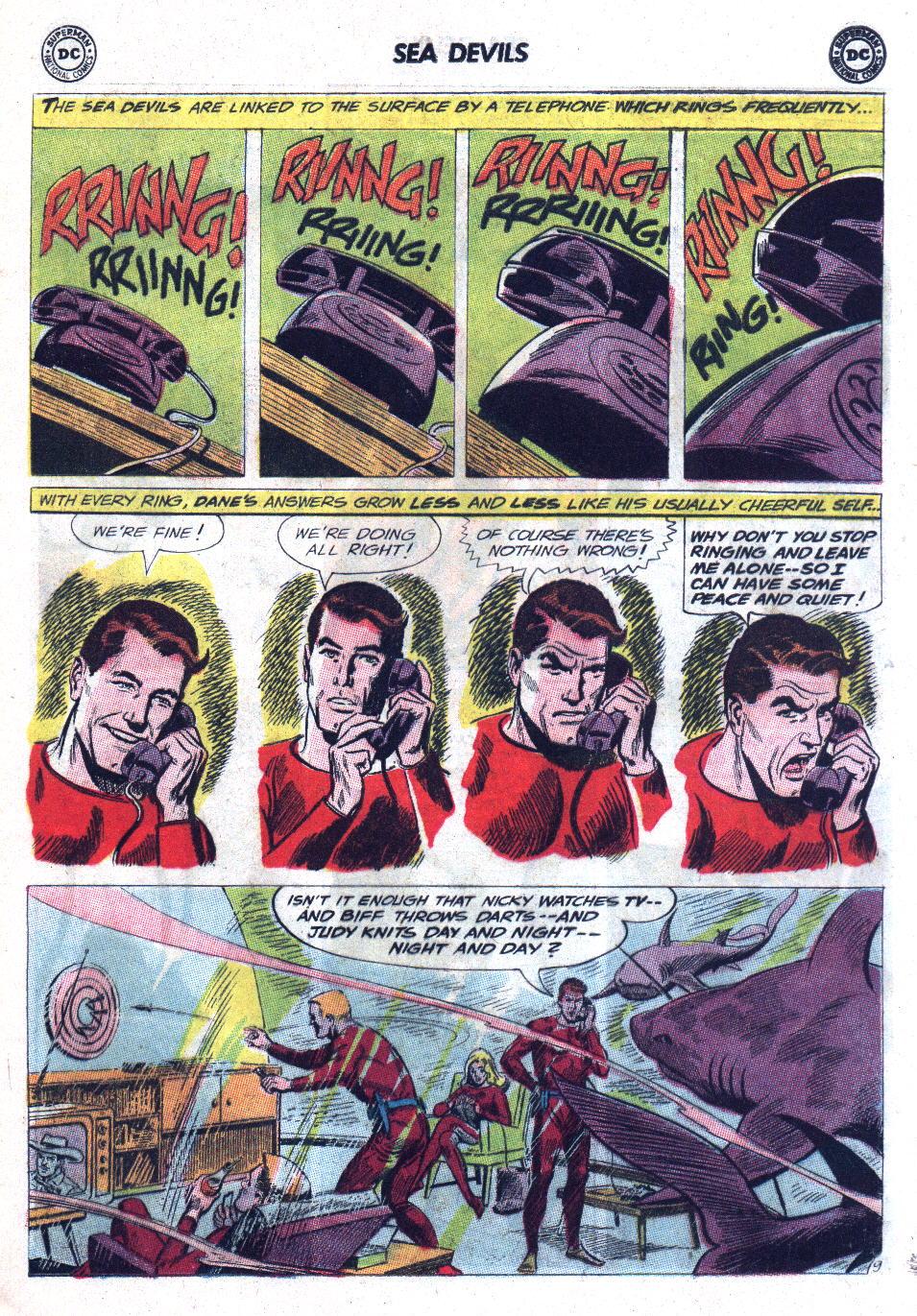 Read online Sea Devils comic -  Issue #11 - 13