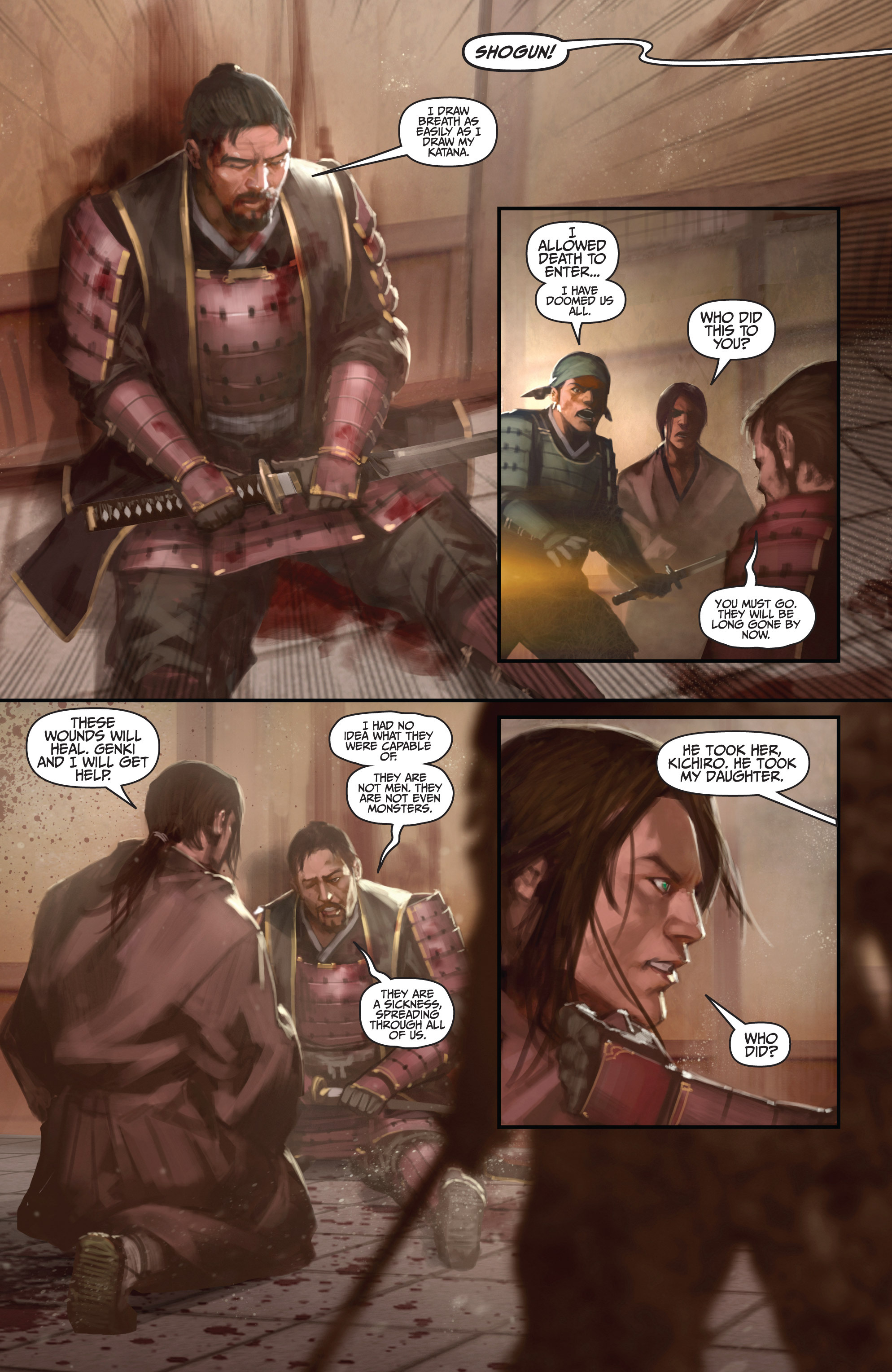 Read online Bushido: The Way of the Warrior comic -  Issue #4 - 4