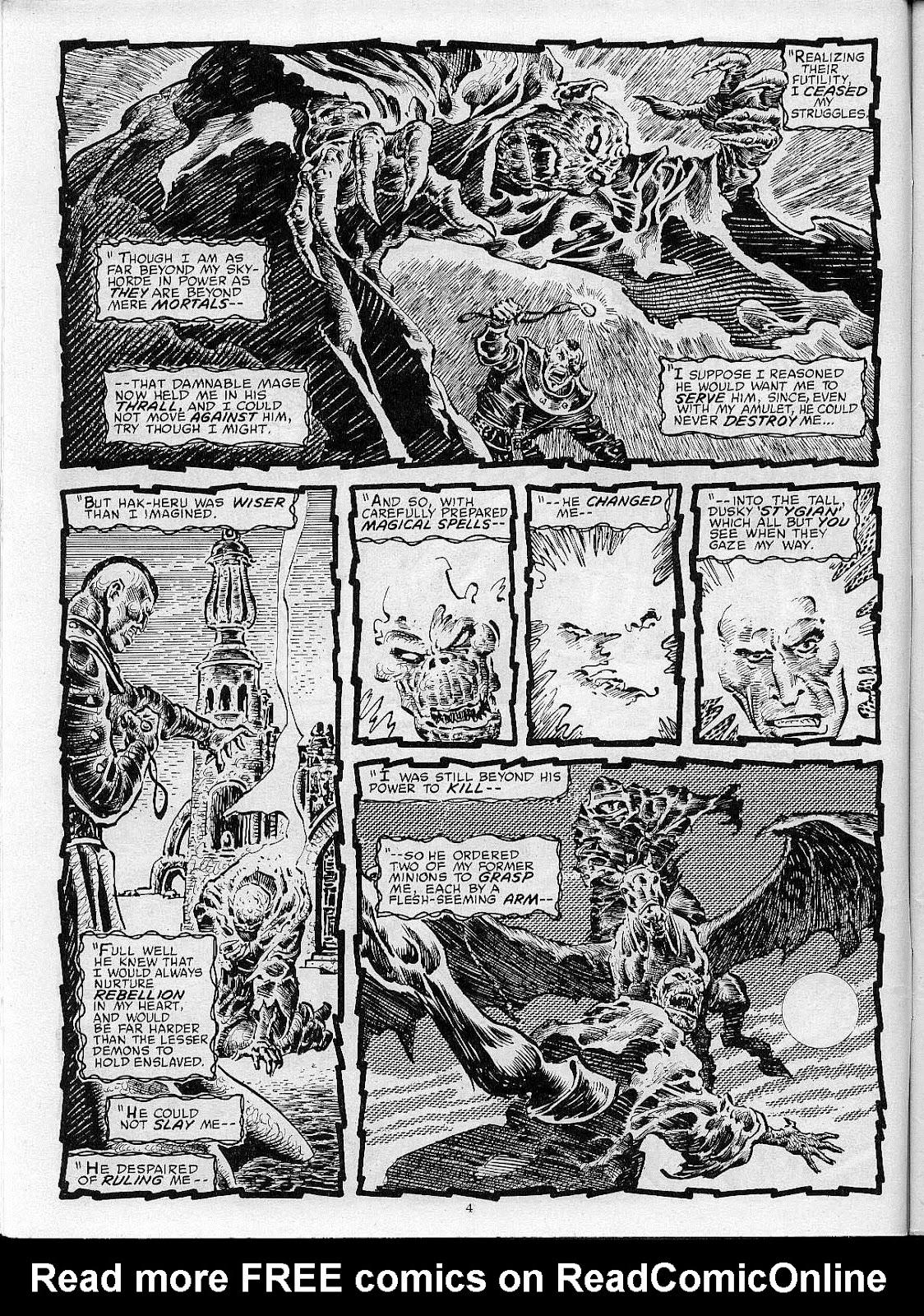 Comic The Savage Sword Of Conan issue 204