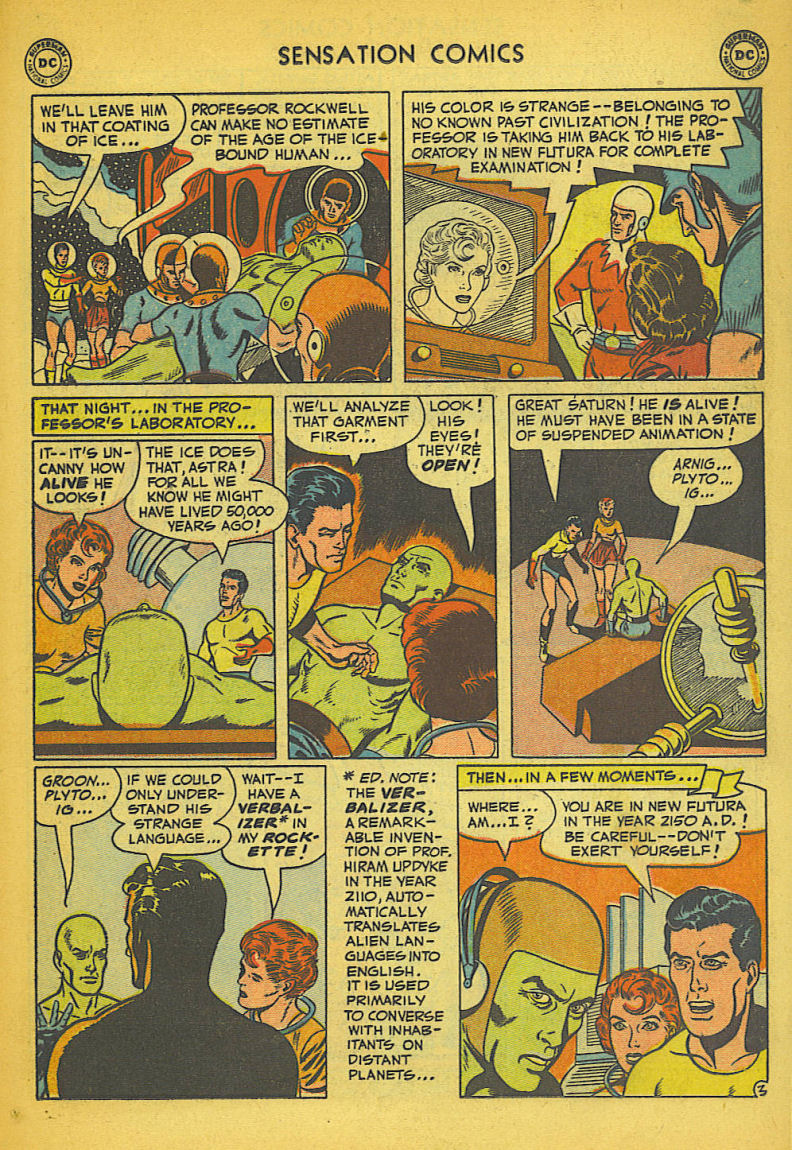 Read online Sensation (Mystery) Comics comic -  Issue #104 - 29