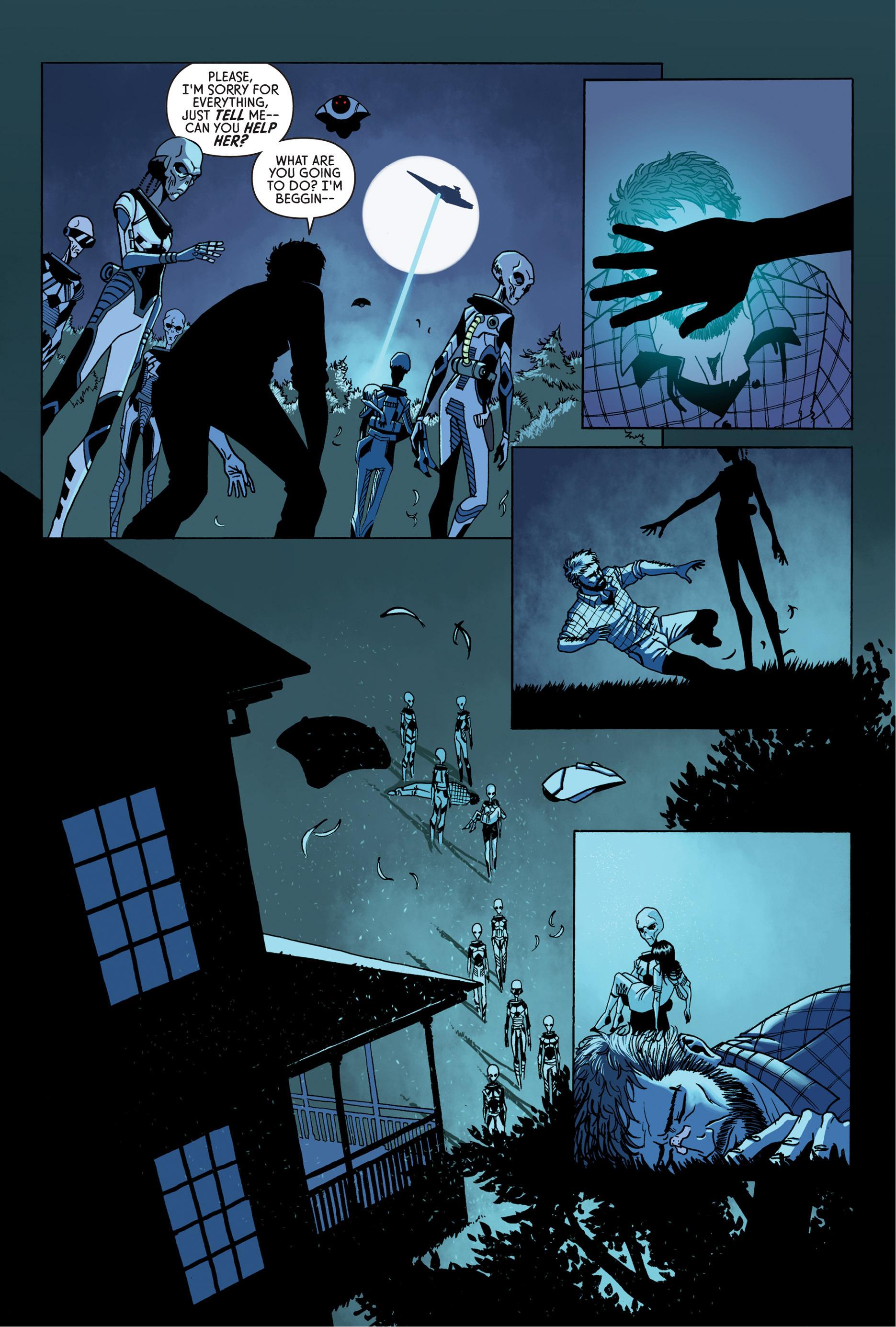 Read online Trespasser comic -  Issue #4 - 14