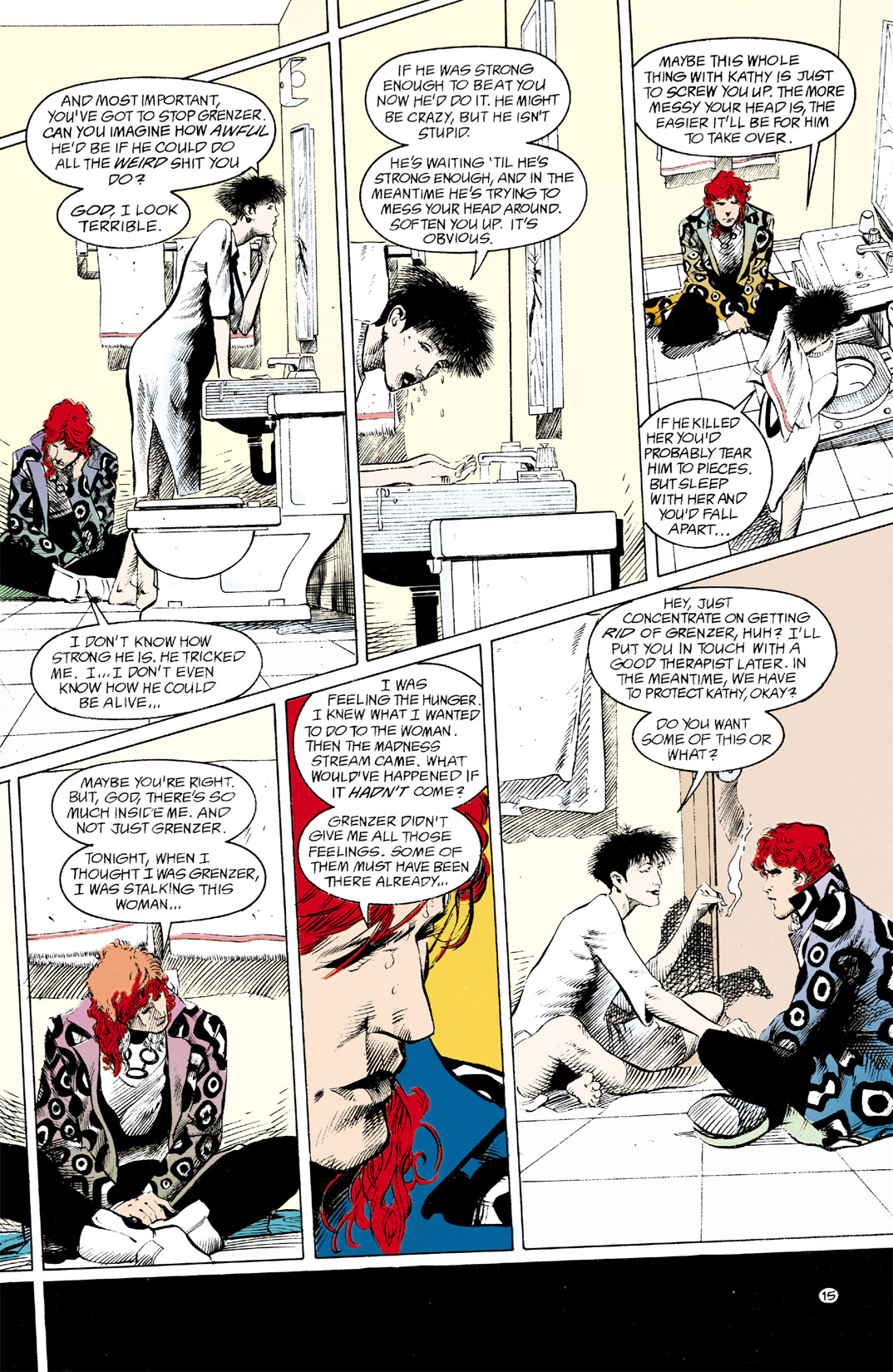 Read online Shade, the Changing Man comic -  Issue #12 - 16