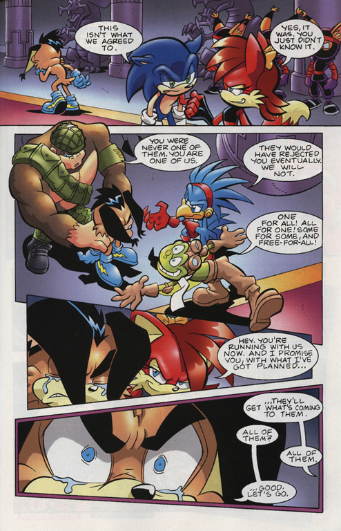 Read online Sonic Universe comic -  Issue #15 - 19