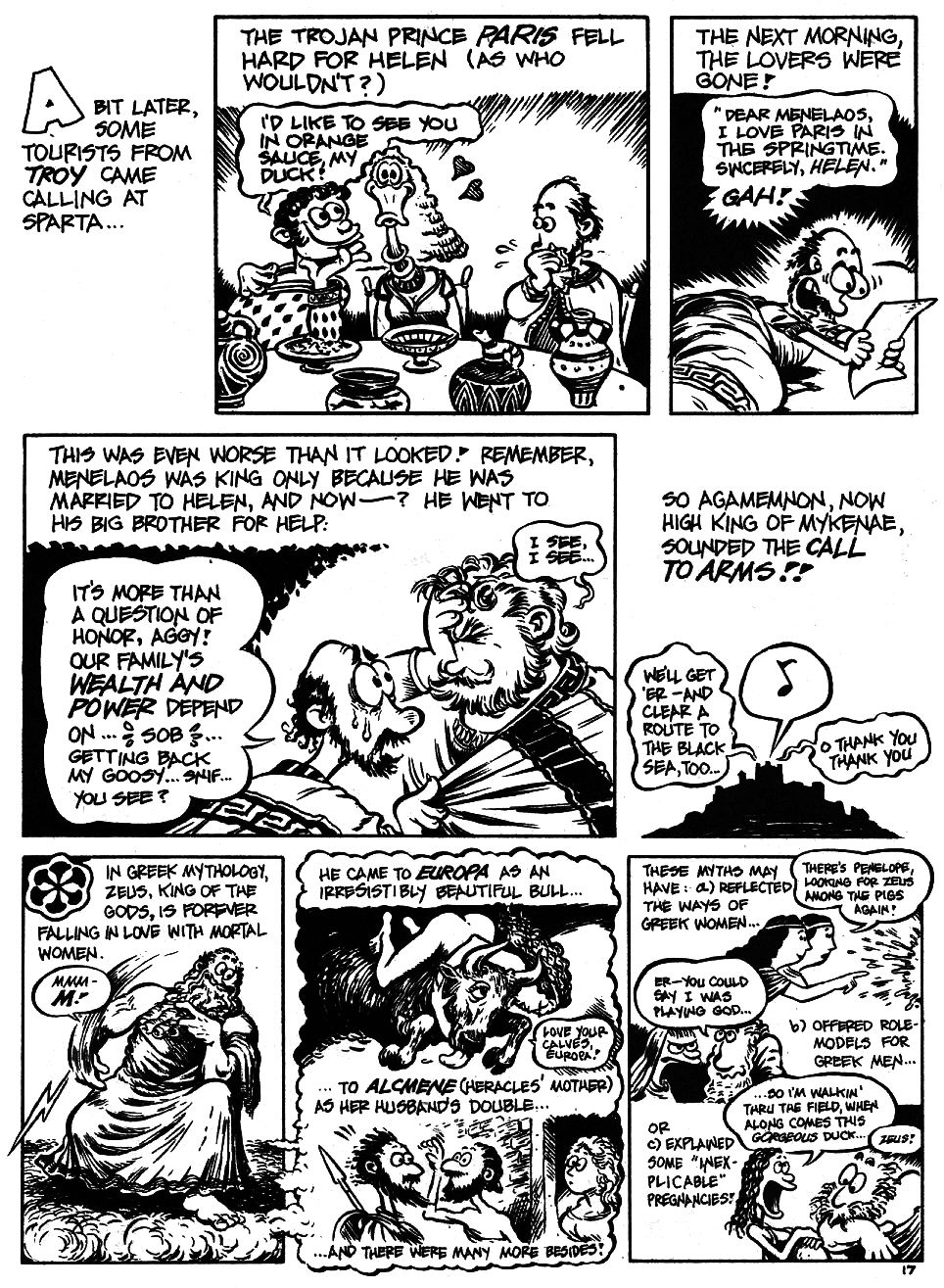 Read online The Cartoon History of the Universe comic -  Issue #5 - 19