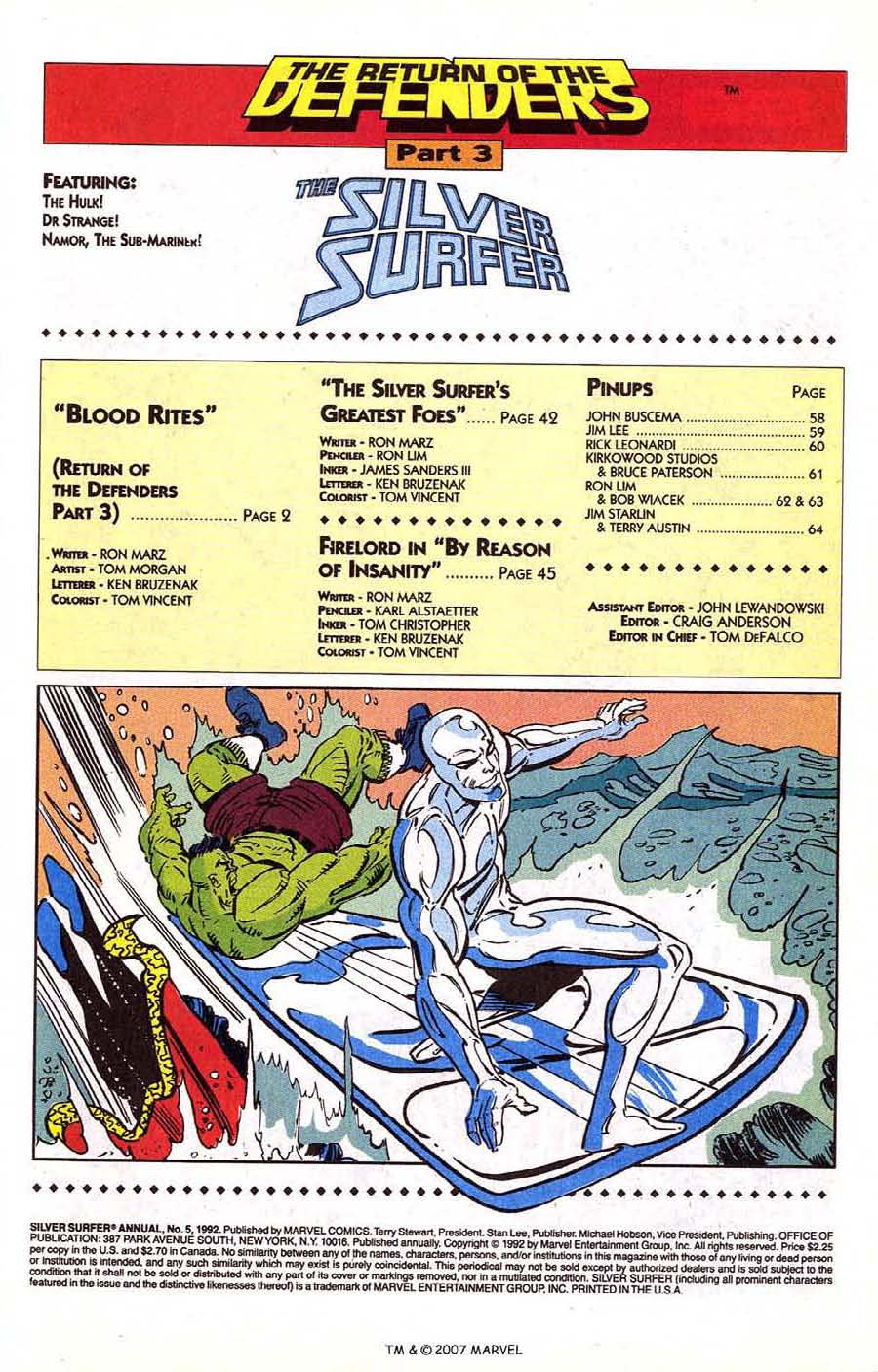 Read online Silver Surfer (1987) comic -  Issue # _Annual 5 - 3