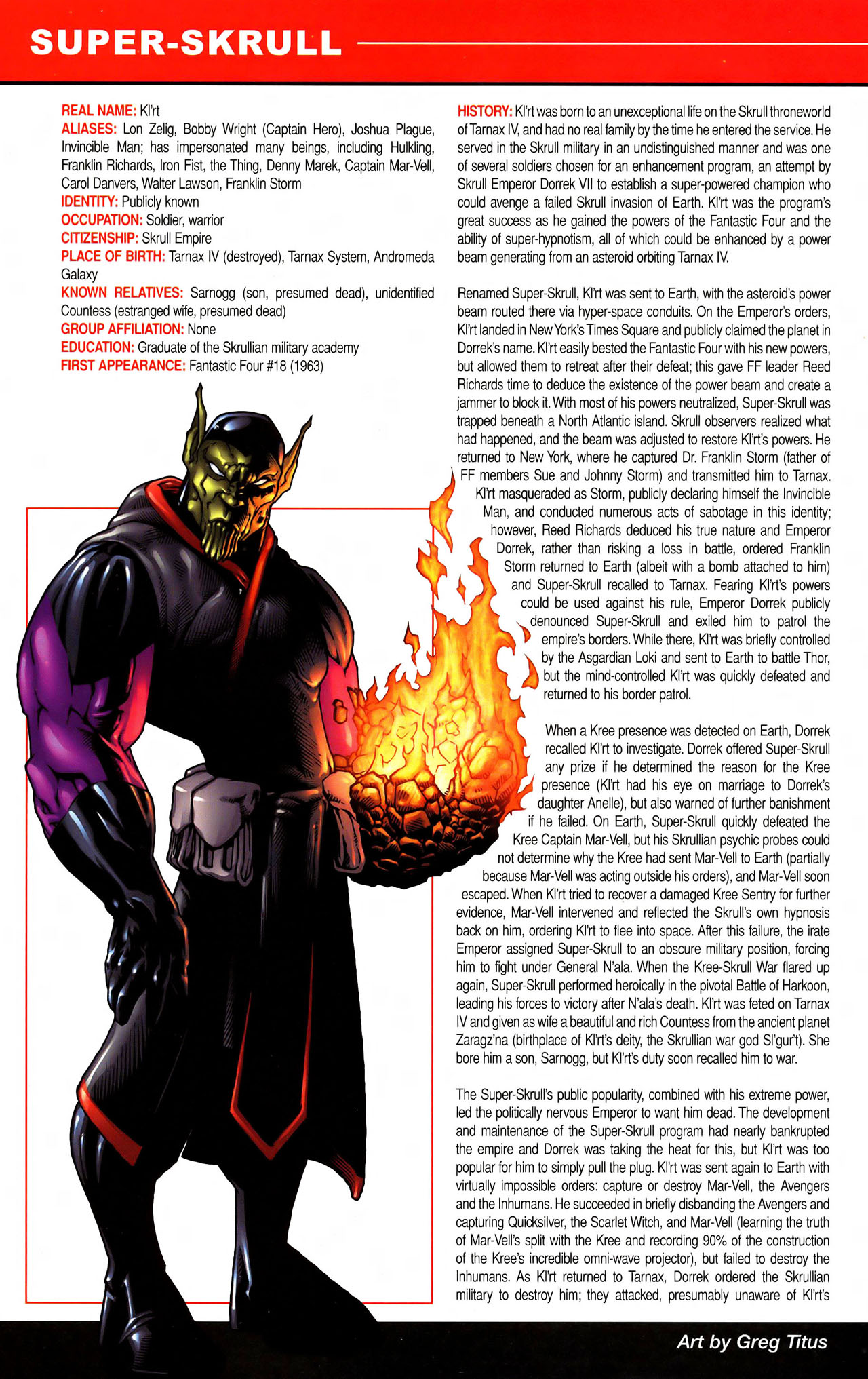 Read online All-New Official Handbook of the Marvel Universe A to Z comic -  Issue #11 - 18