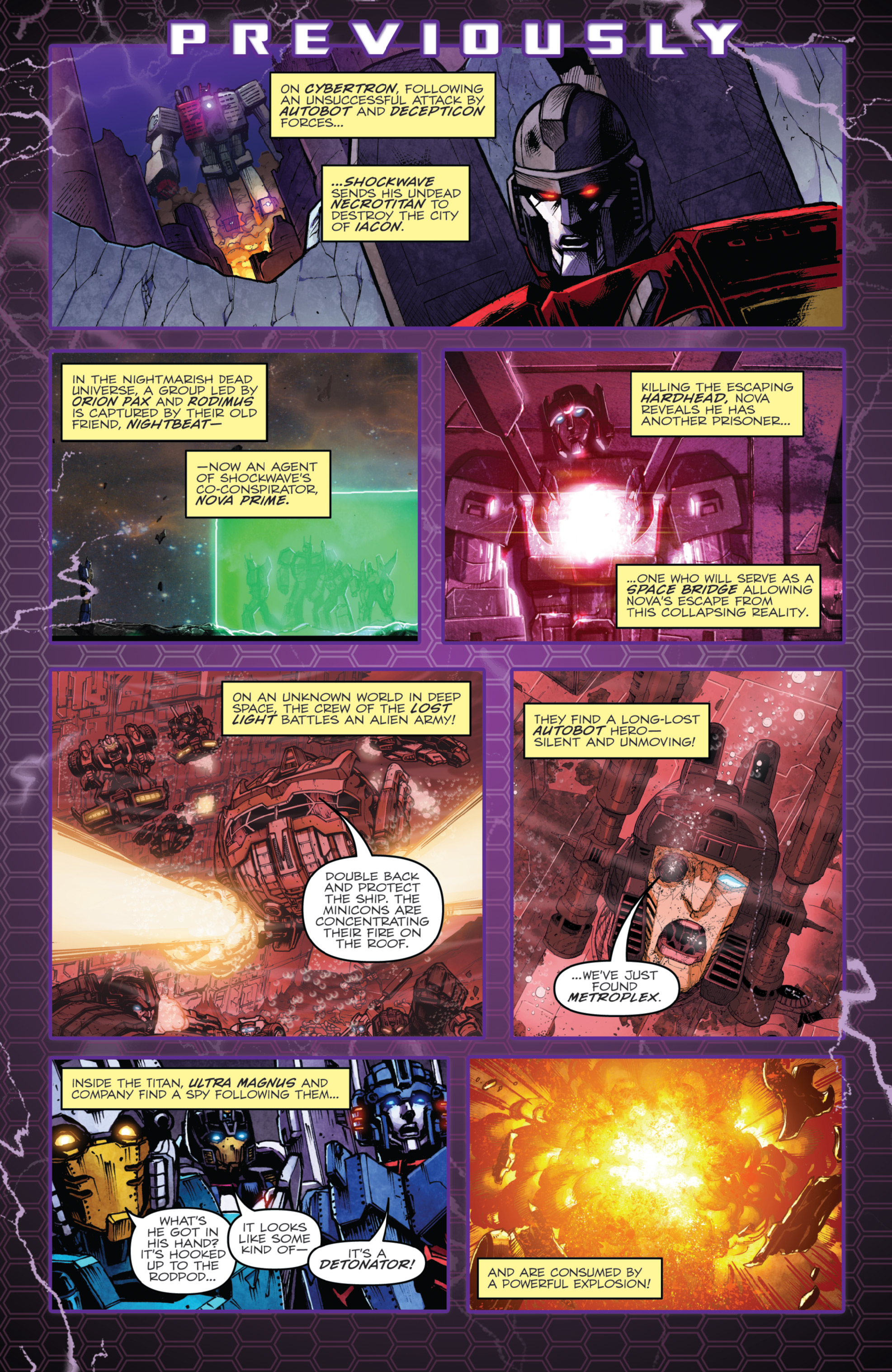 Read online The Transformers: Dark Cybertron Finale comic -  Issue # Full - 4