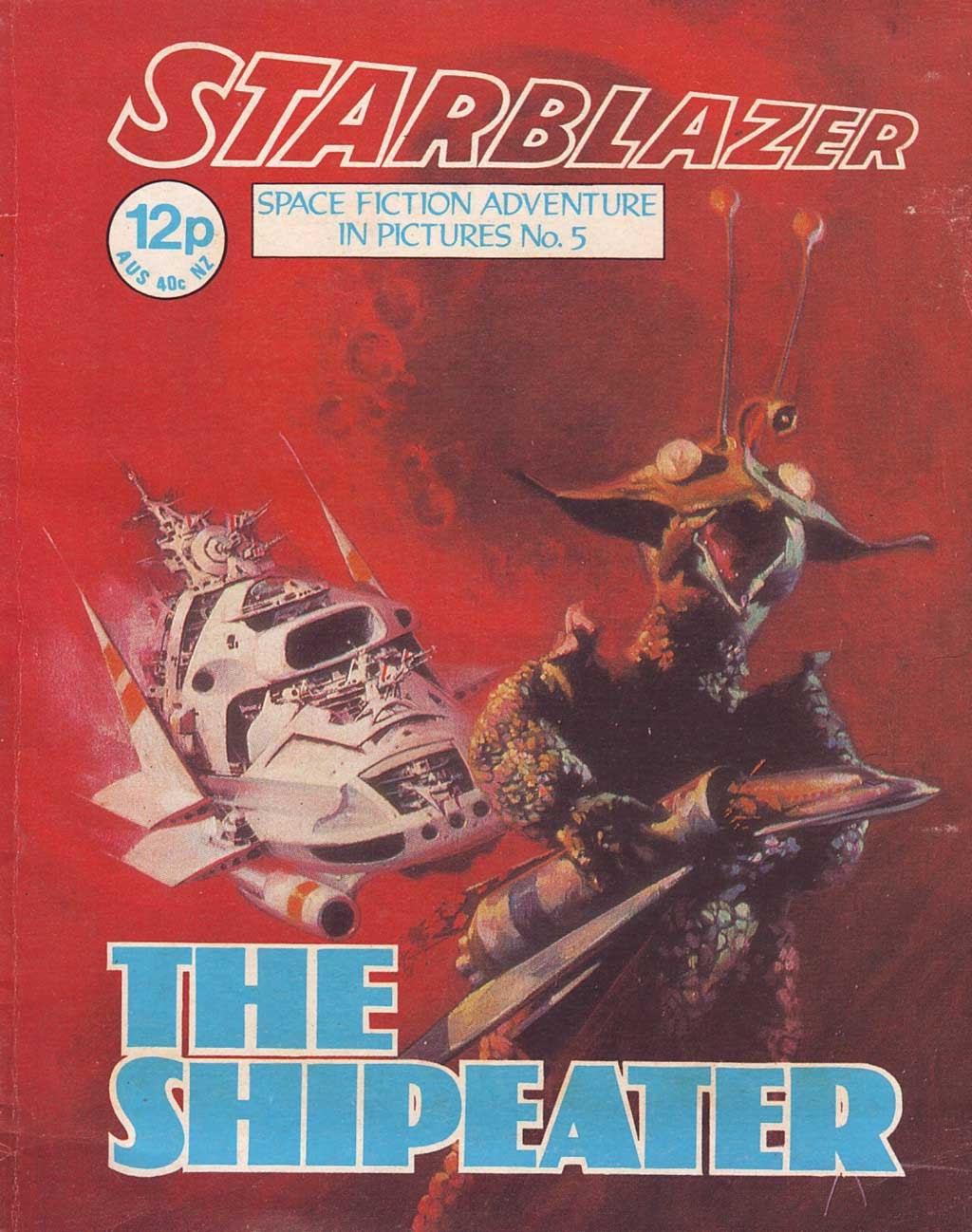 Starblazer issue 5 - Page 1