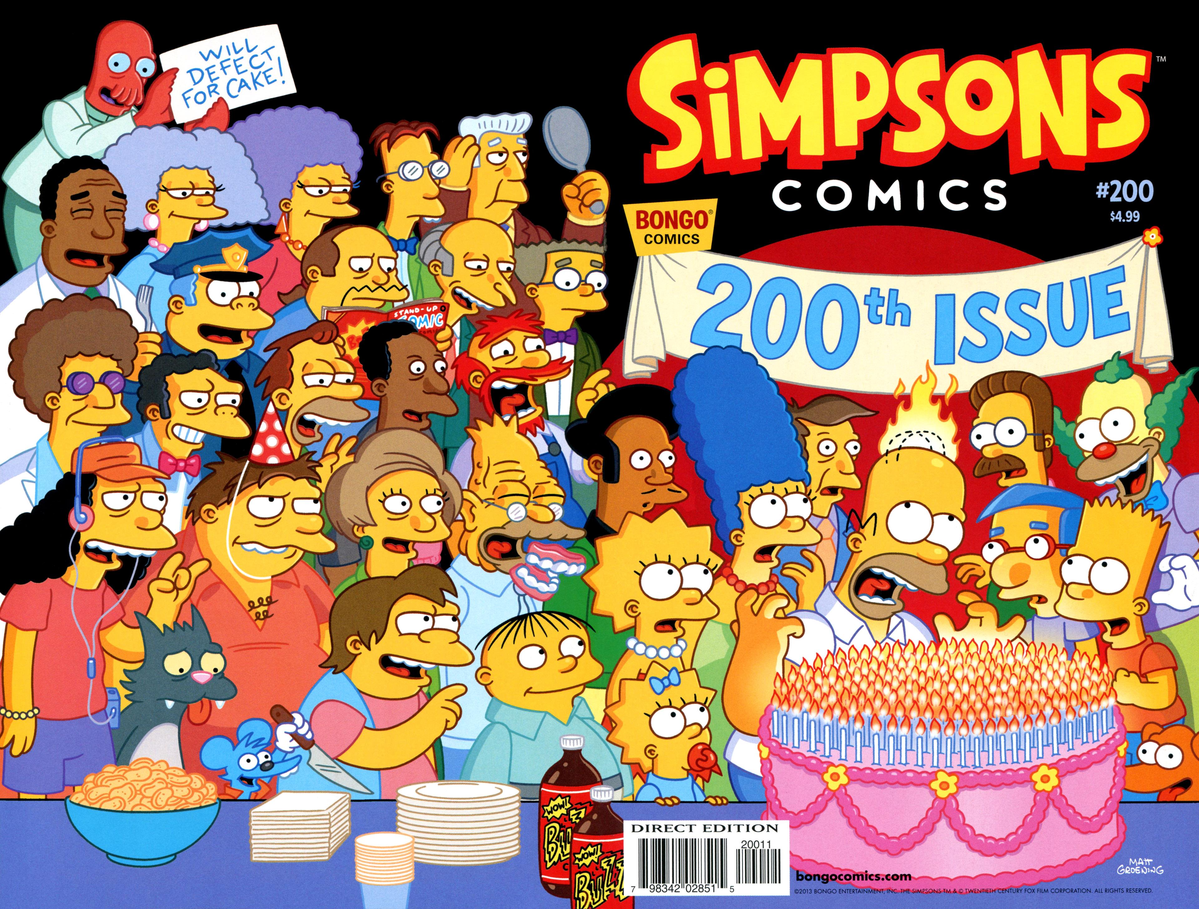 Read online Simpsons Comics comic -  Issue #200 - 1