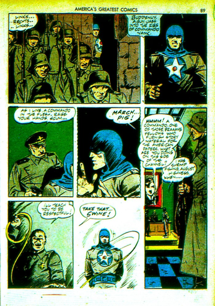 Read online America's Greatest Comics comic -  Issue #4 - 90