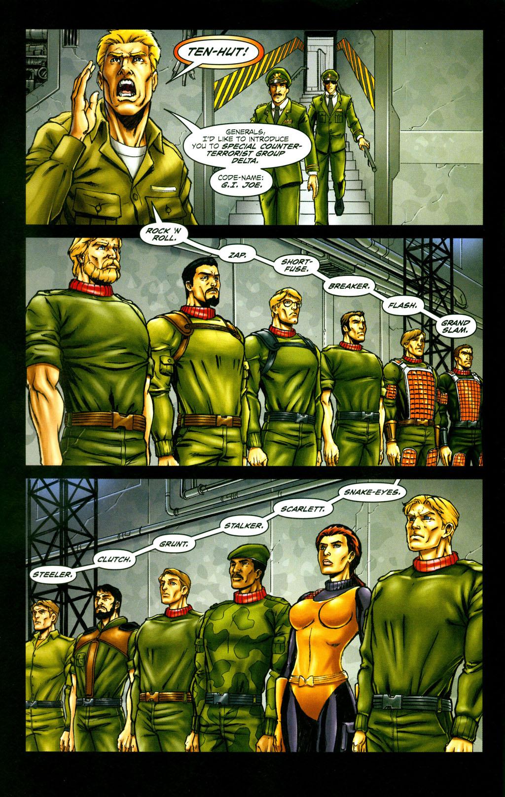 Read online Snake Eyes: Declassified comic -  Issue #6 - 4